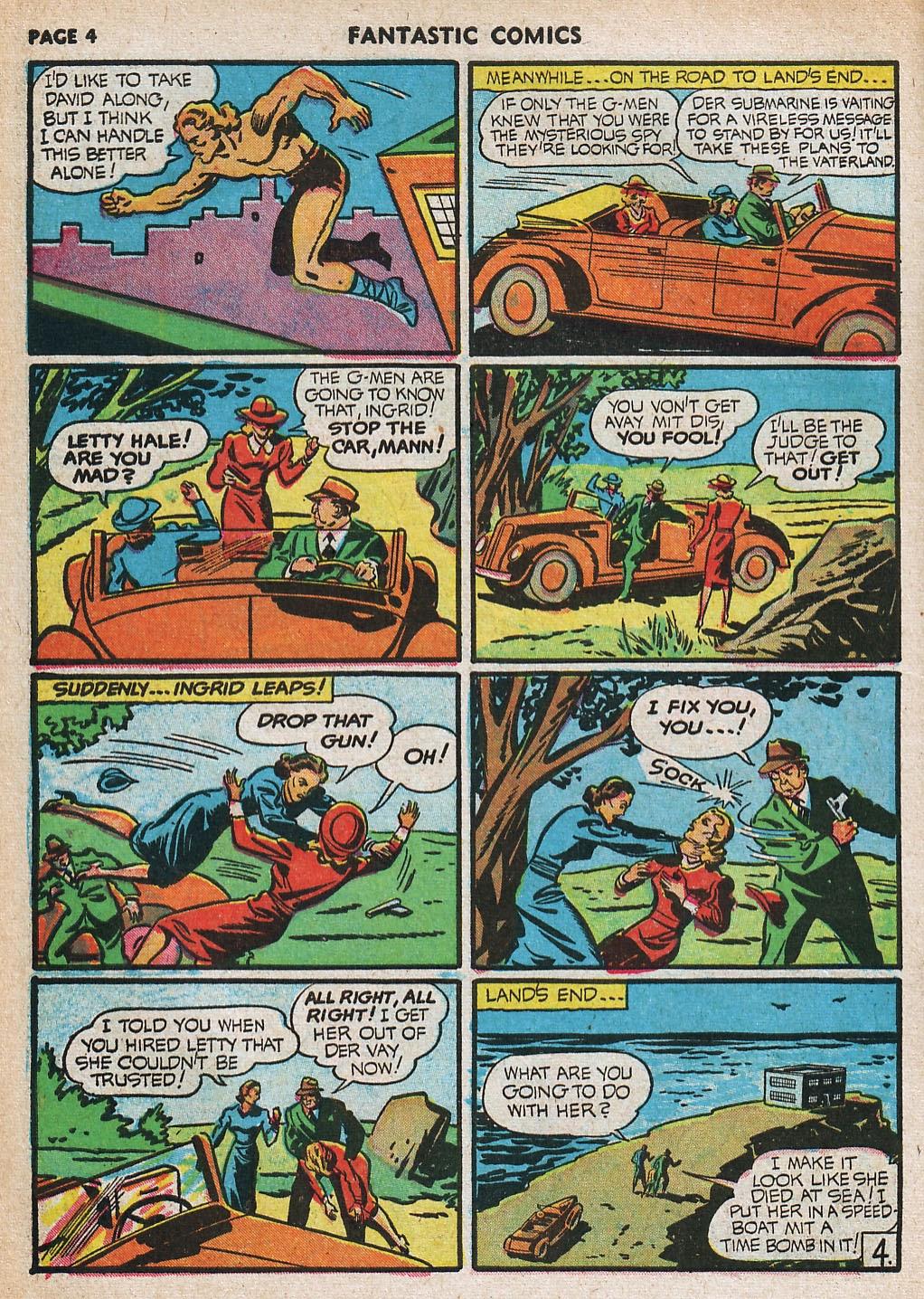 Read online Fantastic Comics comic -  Issue #20 - 5