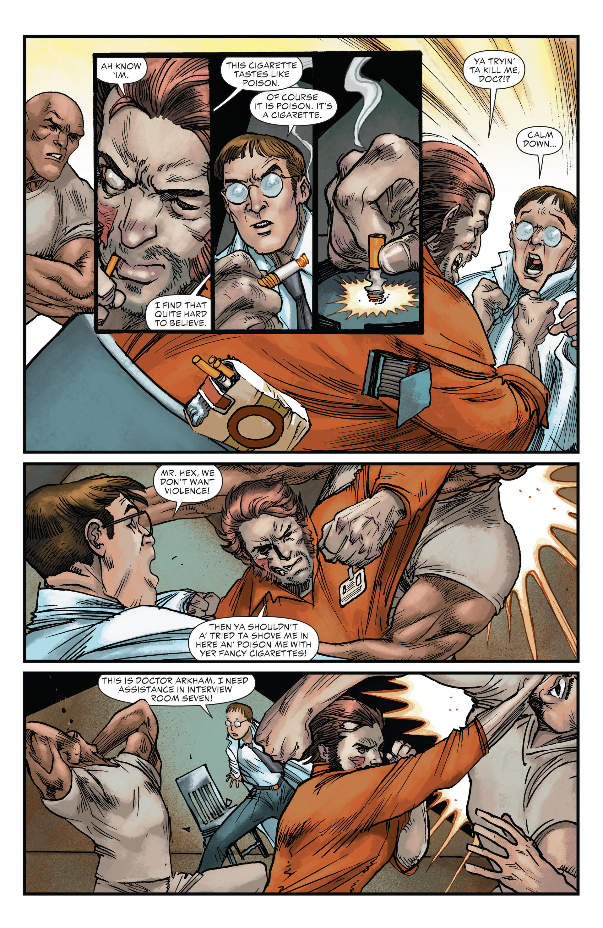 Read online All-Star Western (2011) comic -  Issue #22 - 4