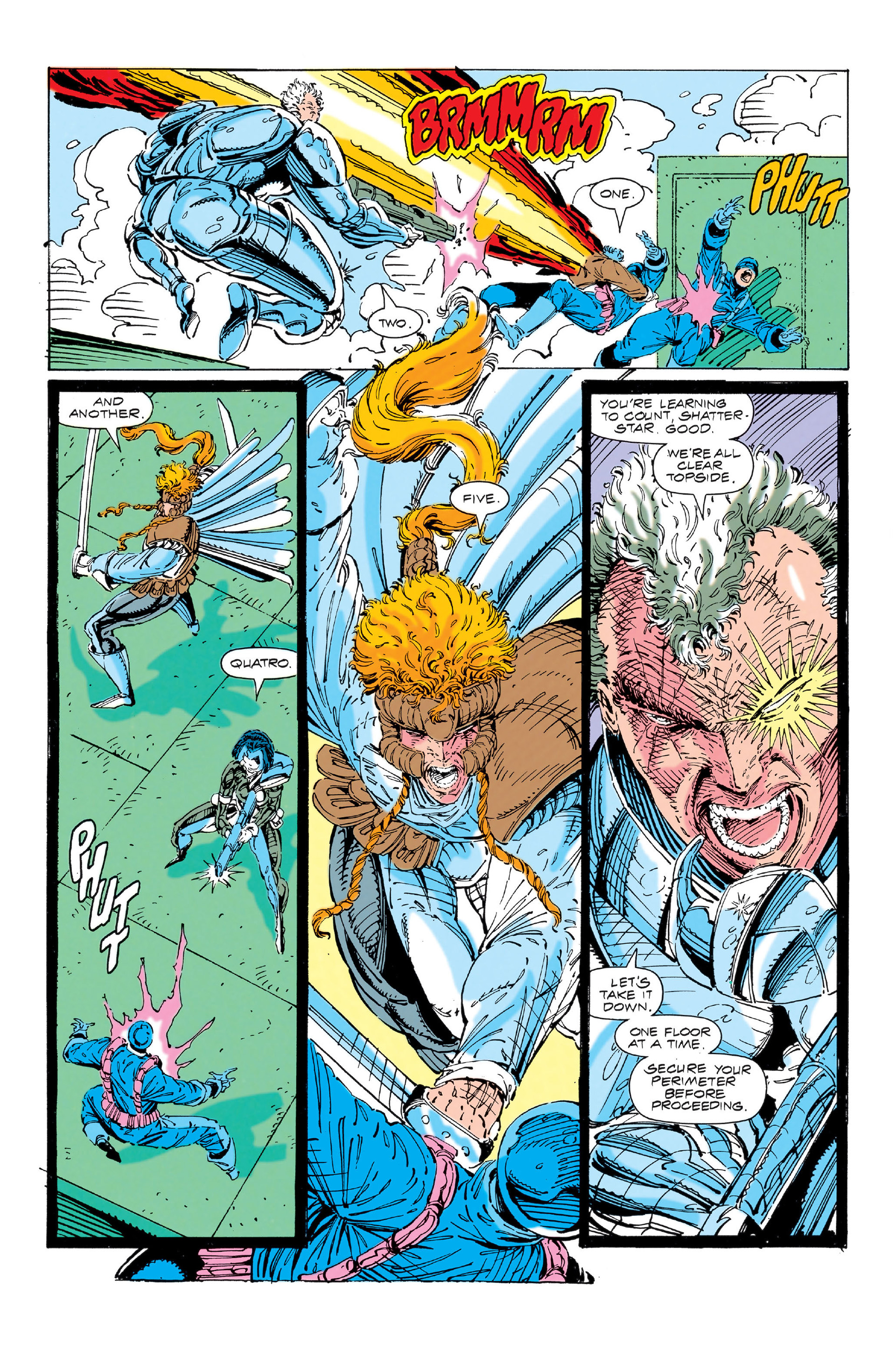 Read online X-Force (1991) comic -  Issue #3 - 13