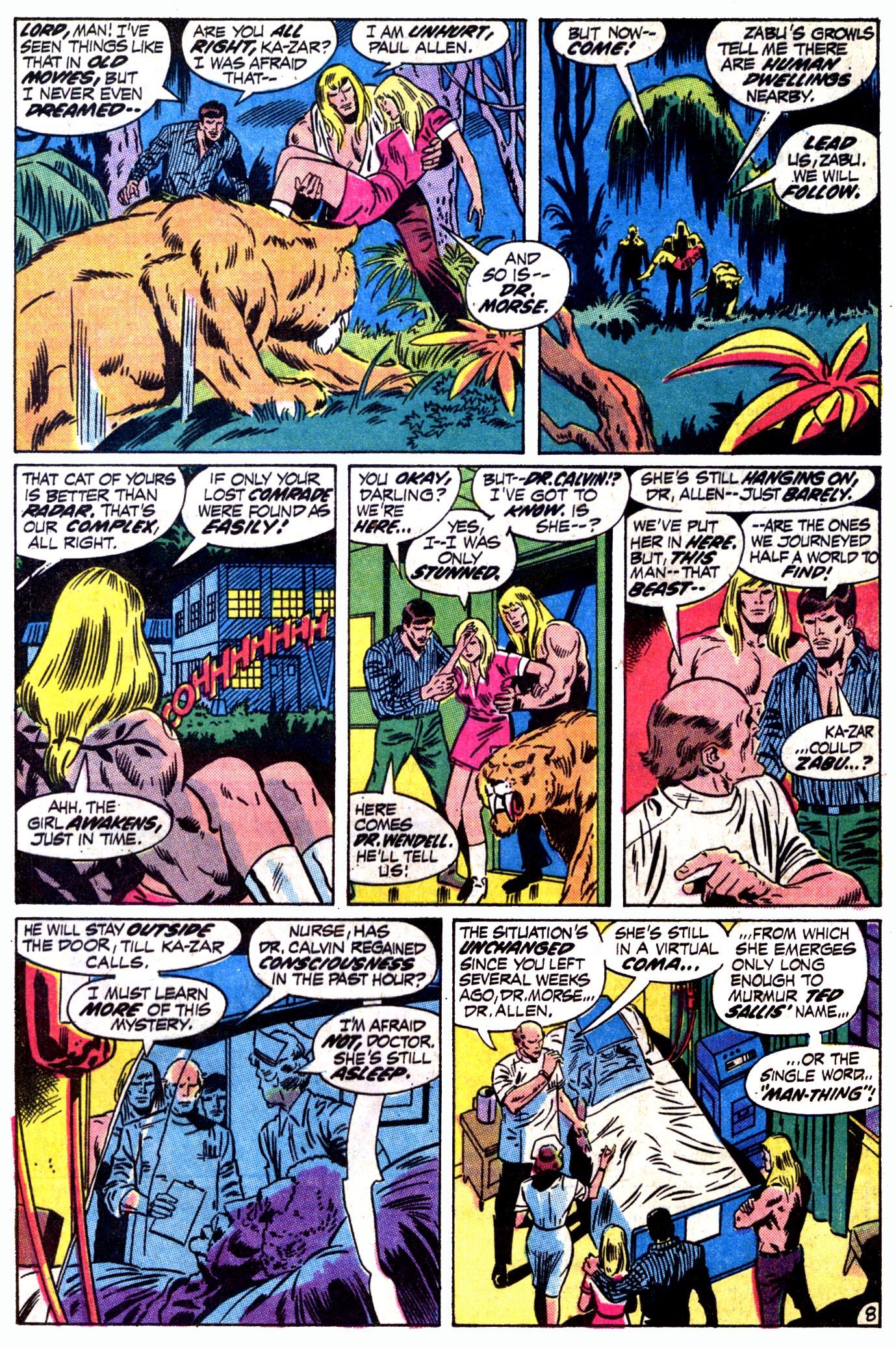 Read online Astonishing Tales (1970) comic -  Issue #12 - 9