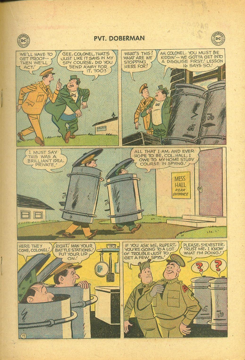 Sgt. Bilko's Pvt. Doberman issue 1 - Page 19