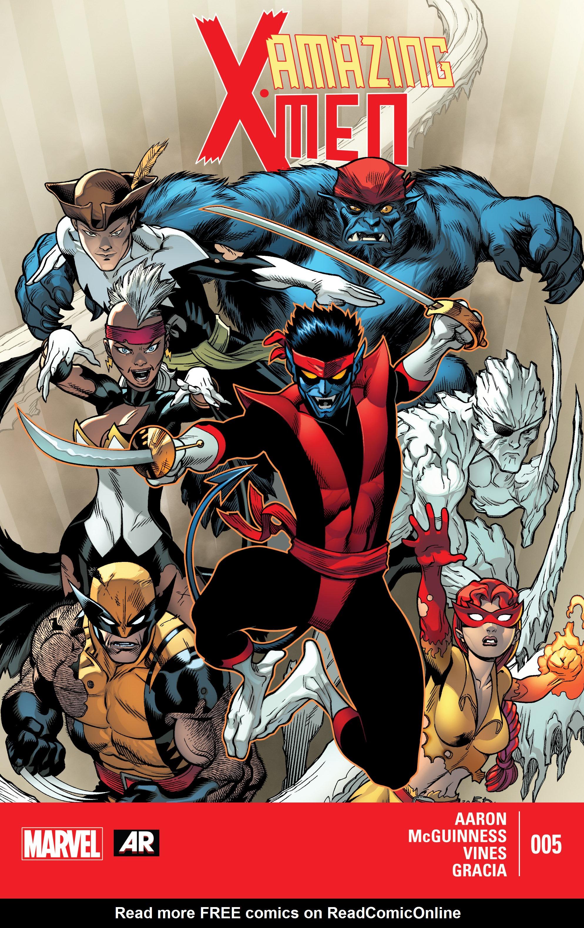 Amazing X-Men (2014) 5 Page 1