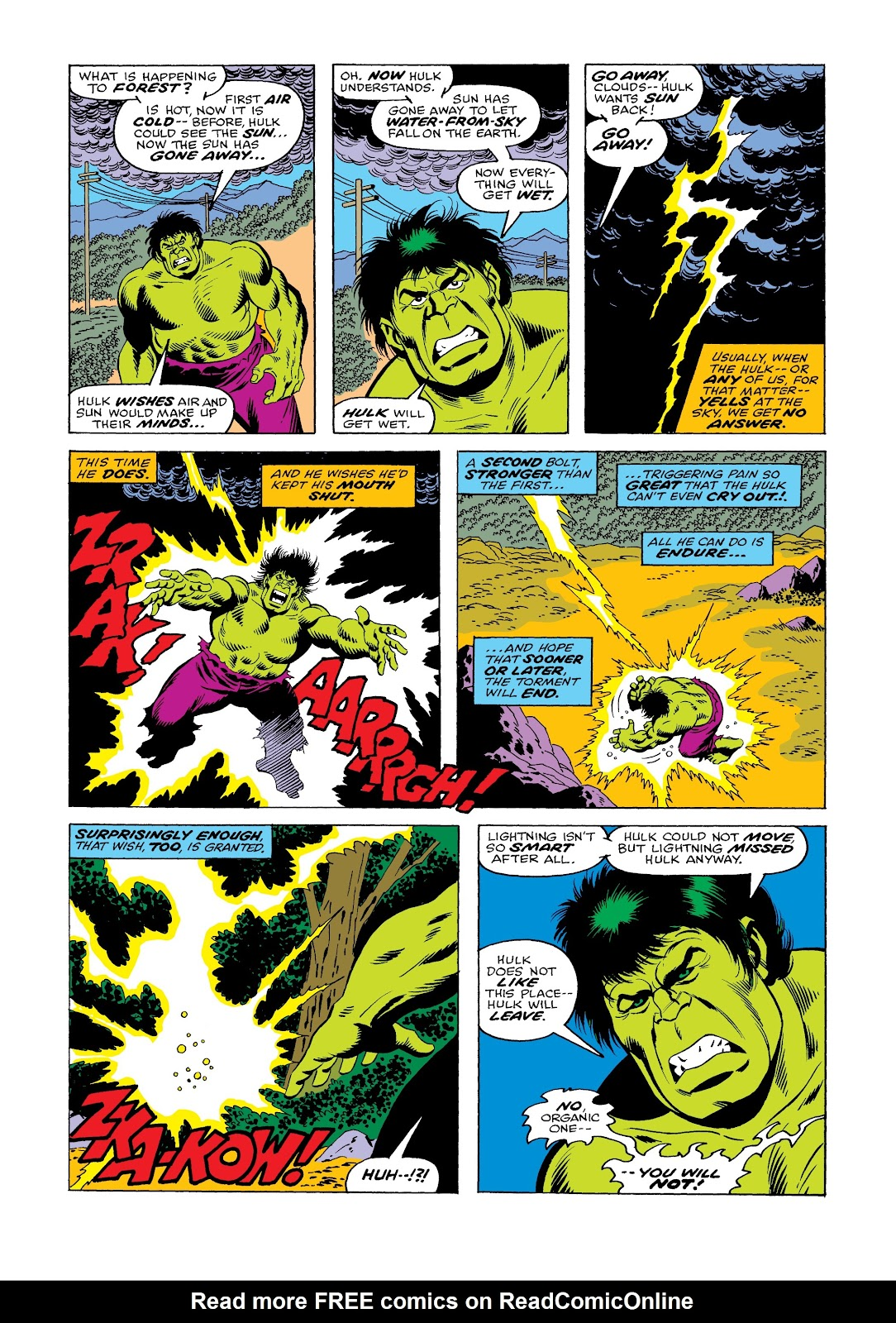 Read online Marvel Masterworks: The Incredible Hulk comic -  Issue # TPB 12 (Part 1) - 71