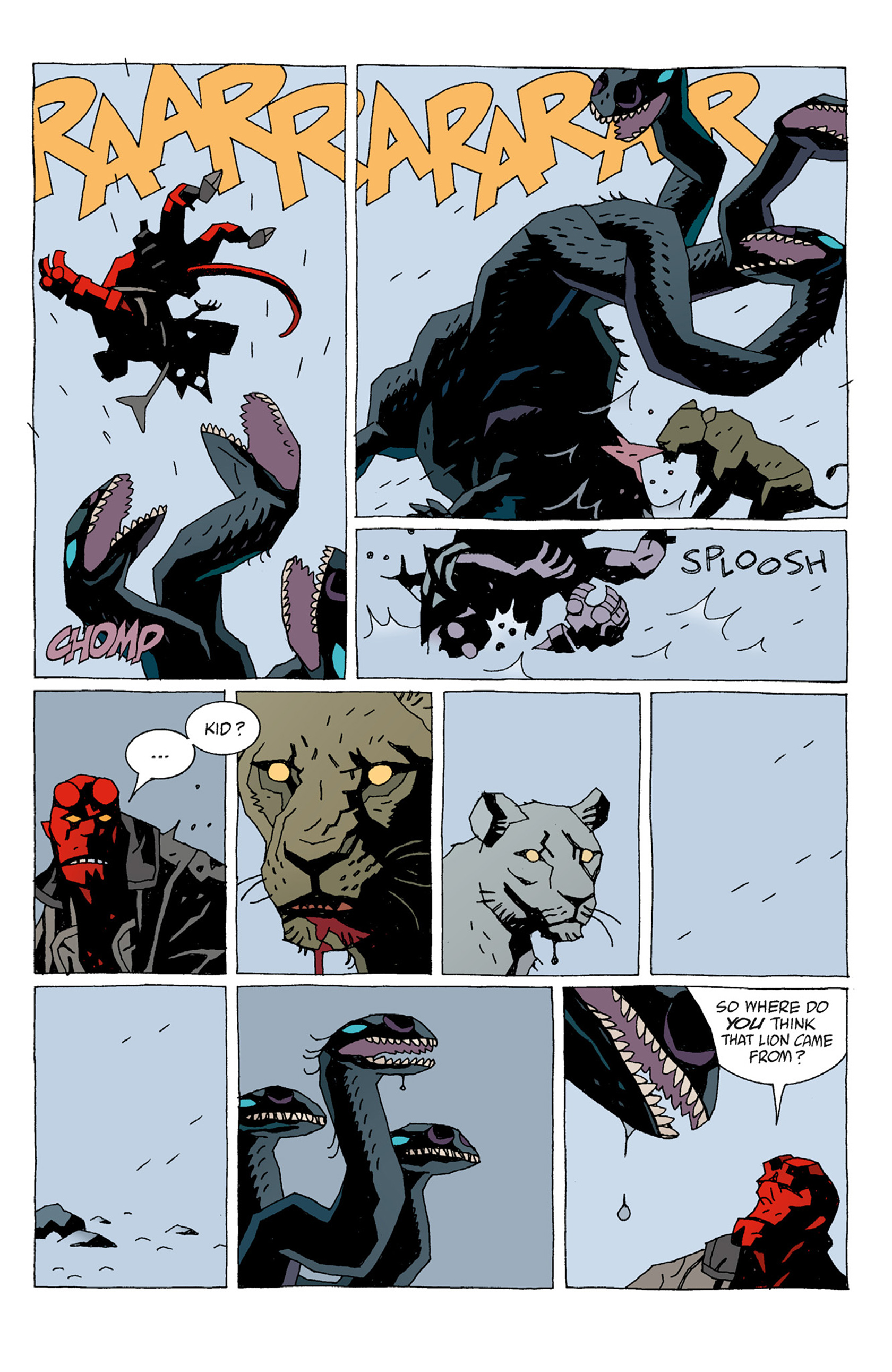 Read online Hellboy: The Troll Witch and Others comic -  Issue # TPB - 23