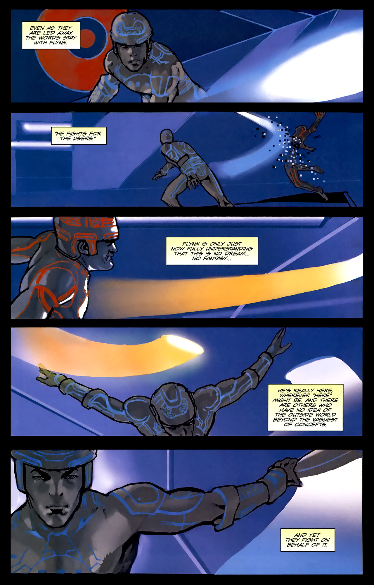 Read online TRON: Original Movie Adaptation comic -  Issue #1 - 34