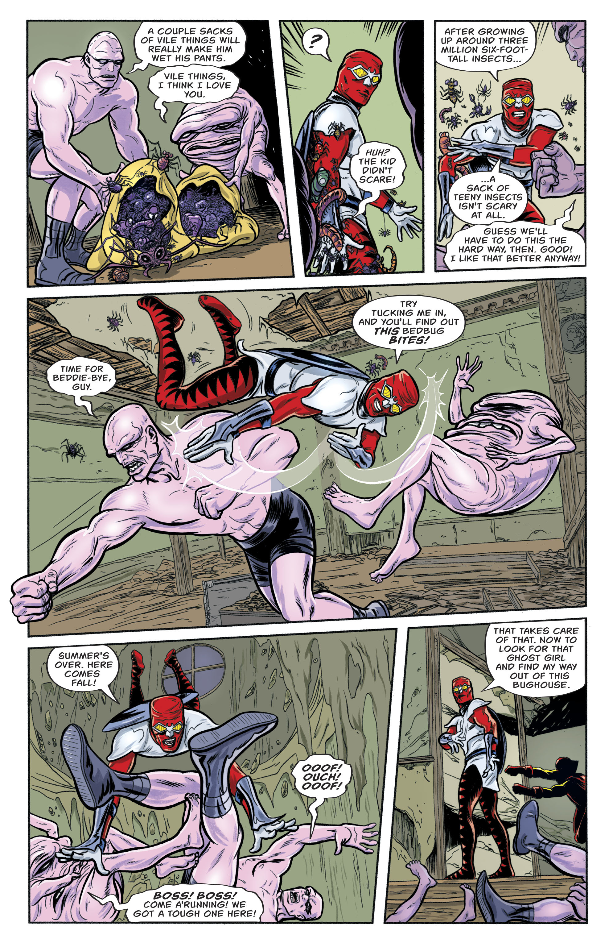 Read online Bug! The Adventures of Forager comic -  Issue #1 - 16