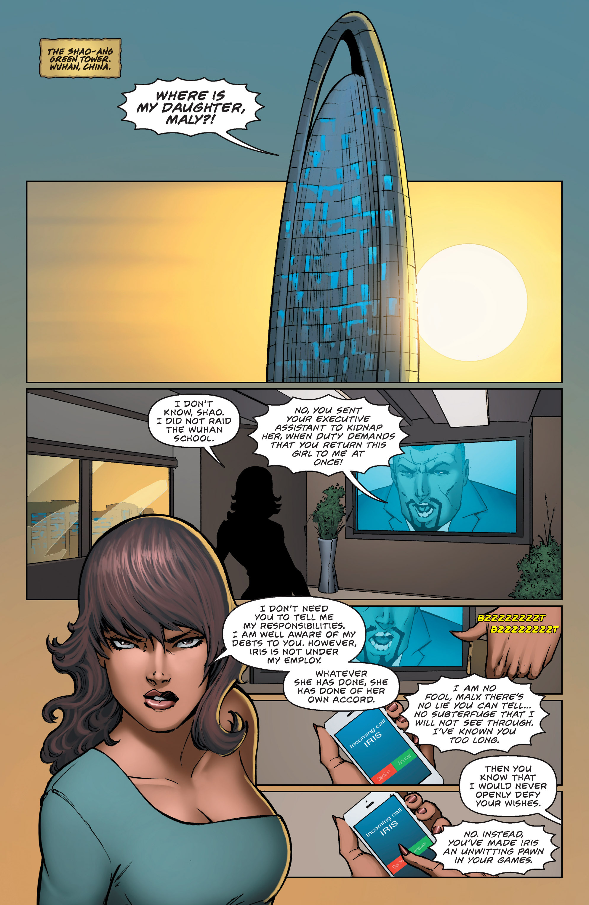 Read online All New Executive Assistant: Iris comic -  Issue # TPB - 54