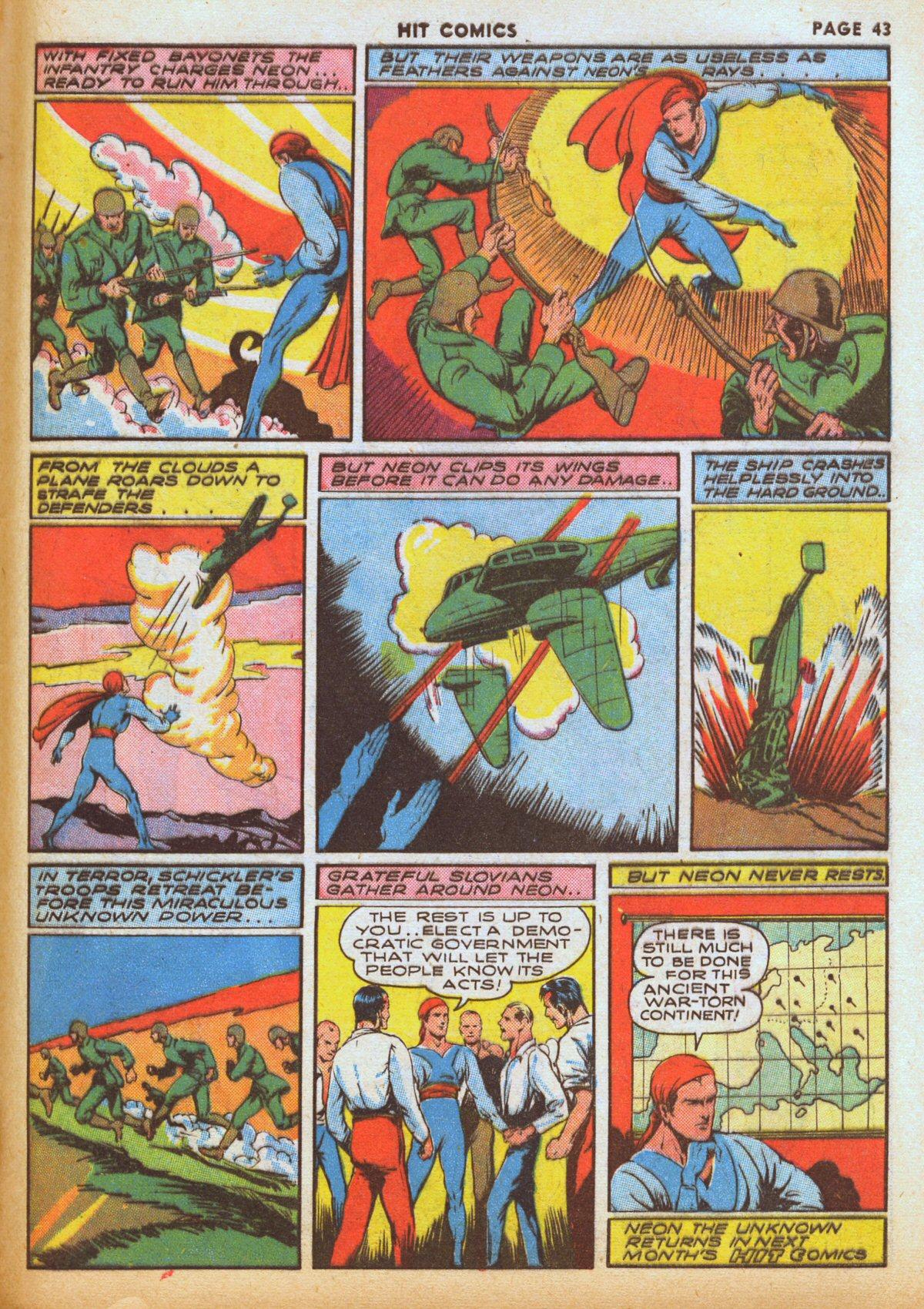 Read online Hit Comics comic -  Issue #12 - 45