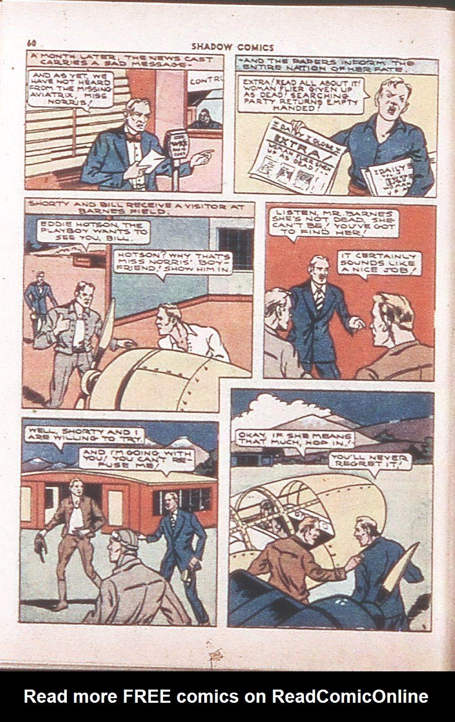 Read online Shadow Comics comic -  Issue #6 - 62