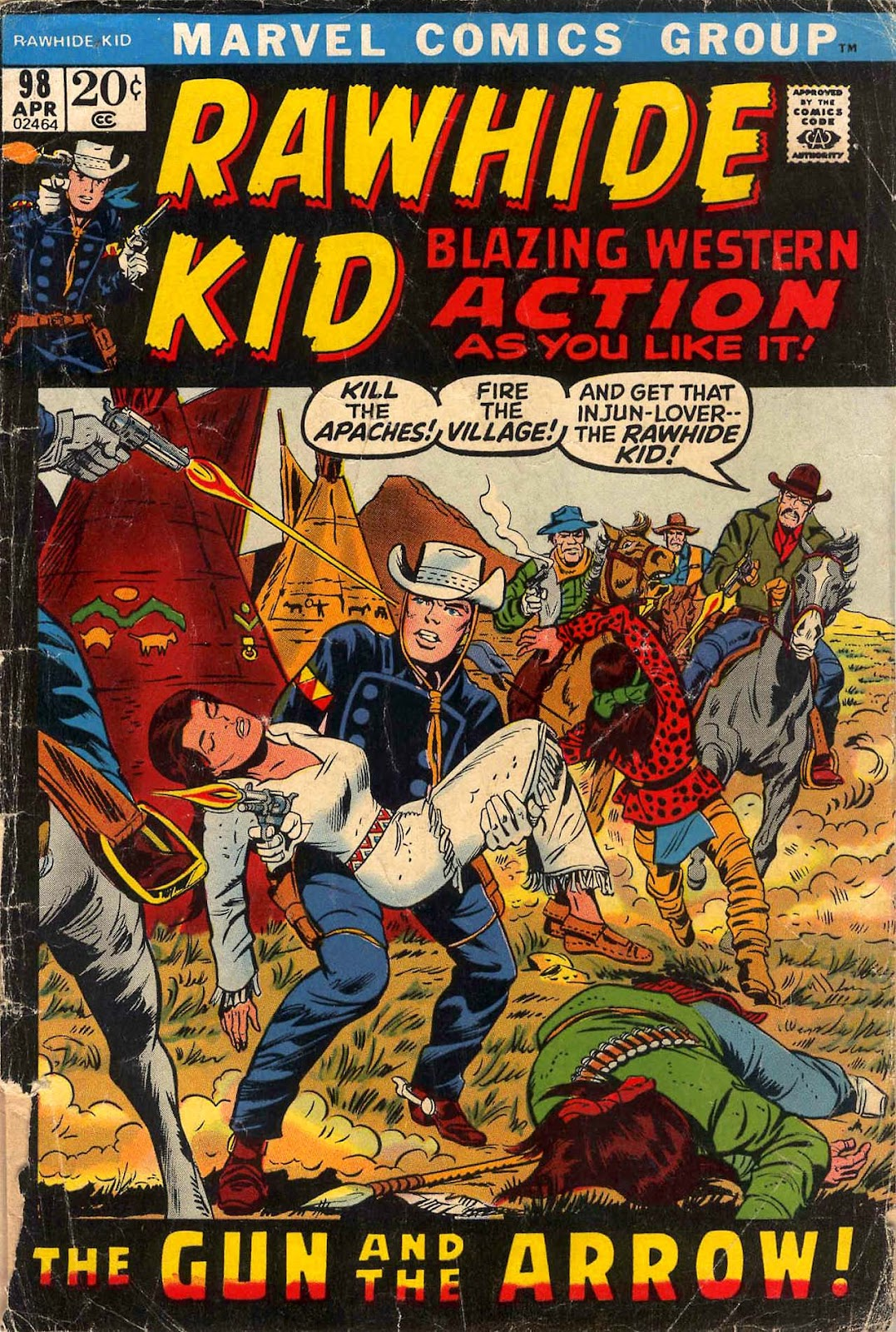 The Rawhide Kid (1955) issue 98 - Page 1