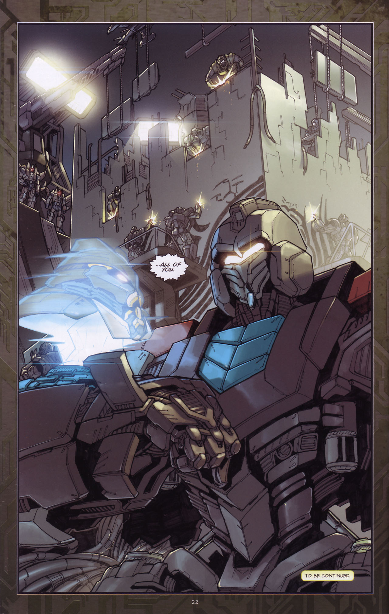 Read online Transformers: The Reign of Starscream comic -  Issue #3 - 23