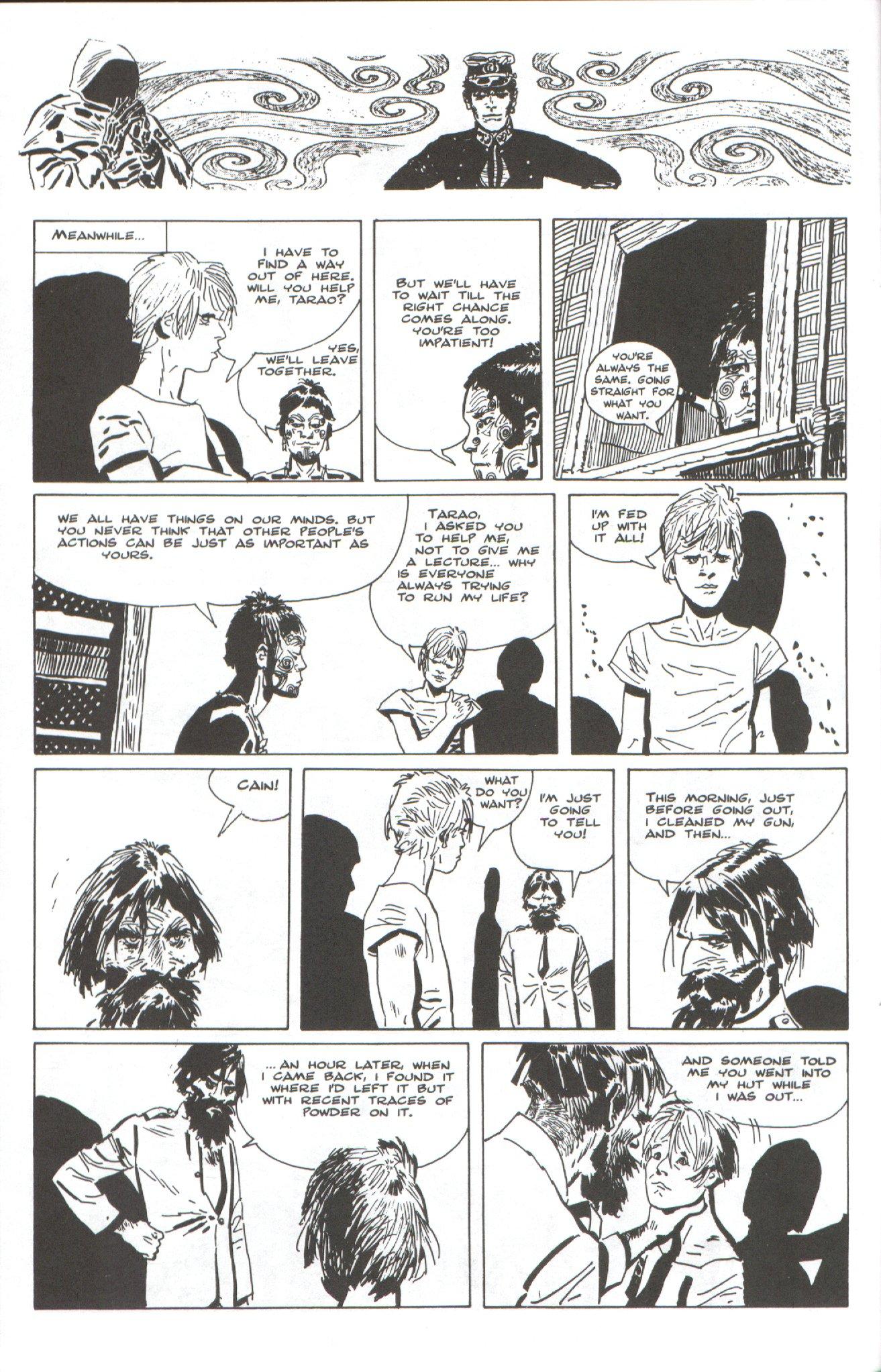 Read online Corto Maltese: Ballad of the Salt Sea comic -  Issue #4 - 10