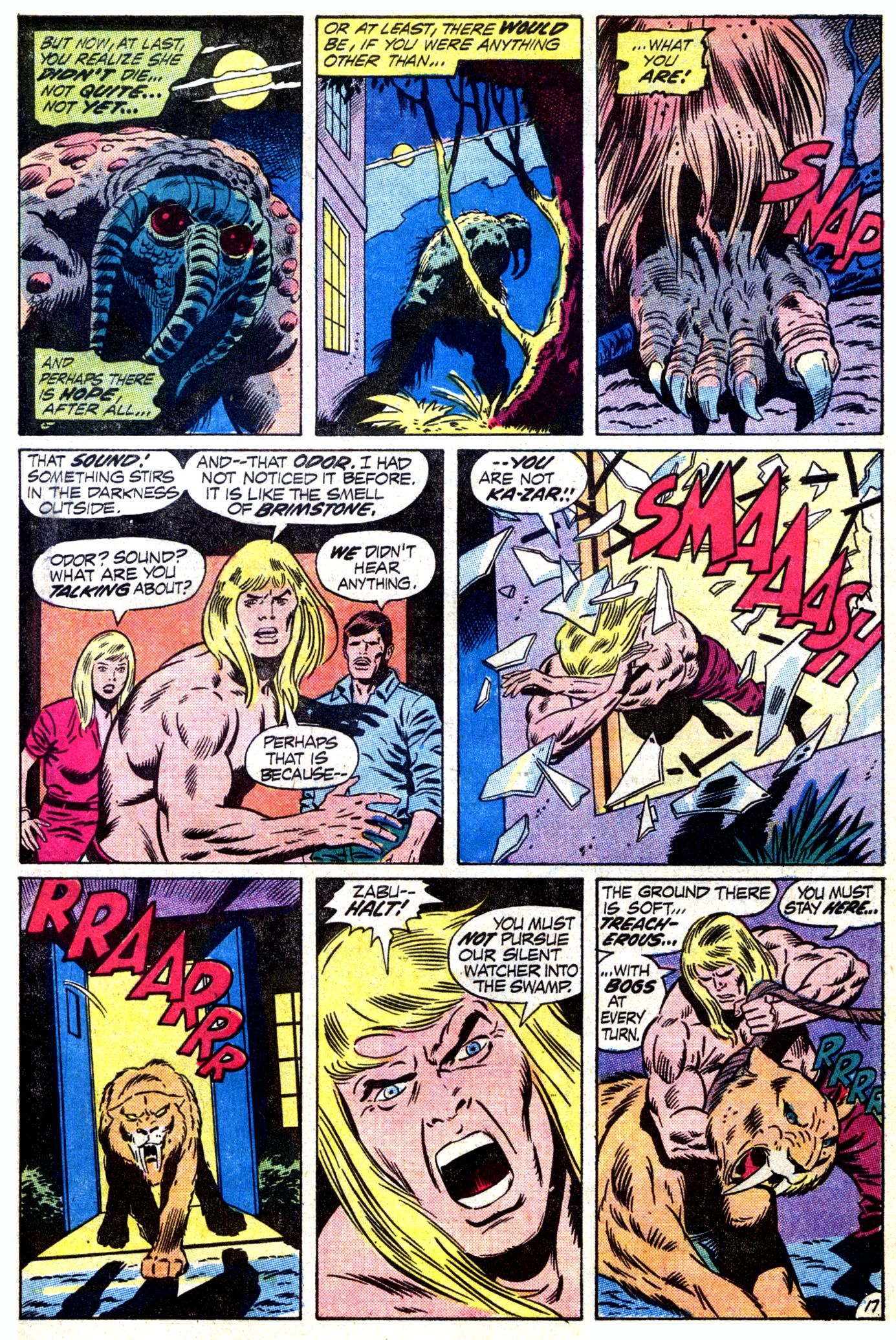 Read online Astonishing Tales (1970) comic -  Issue #12 - 18