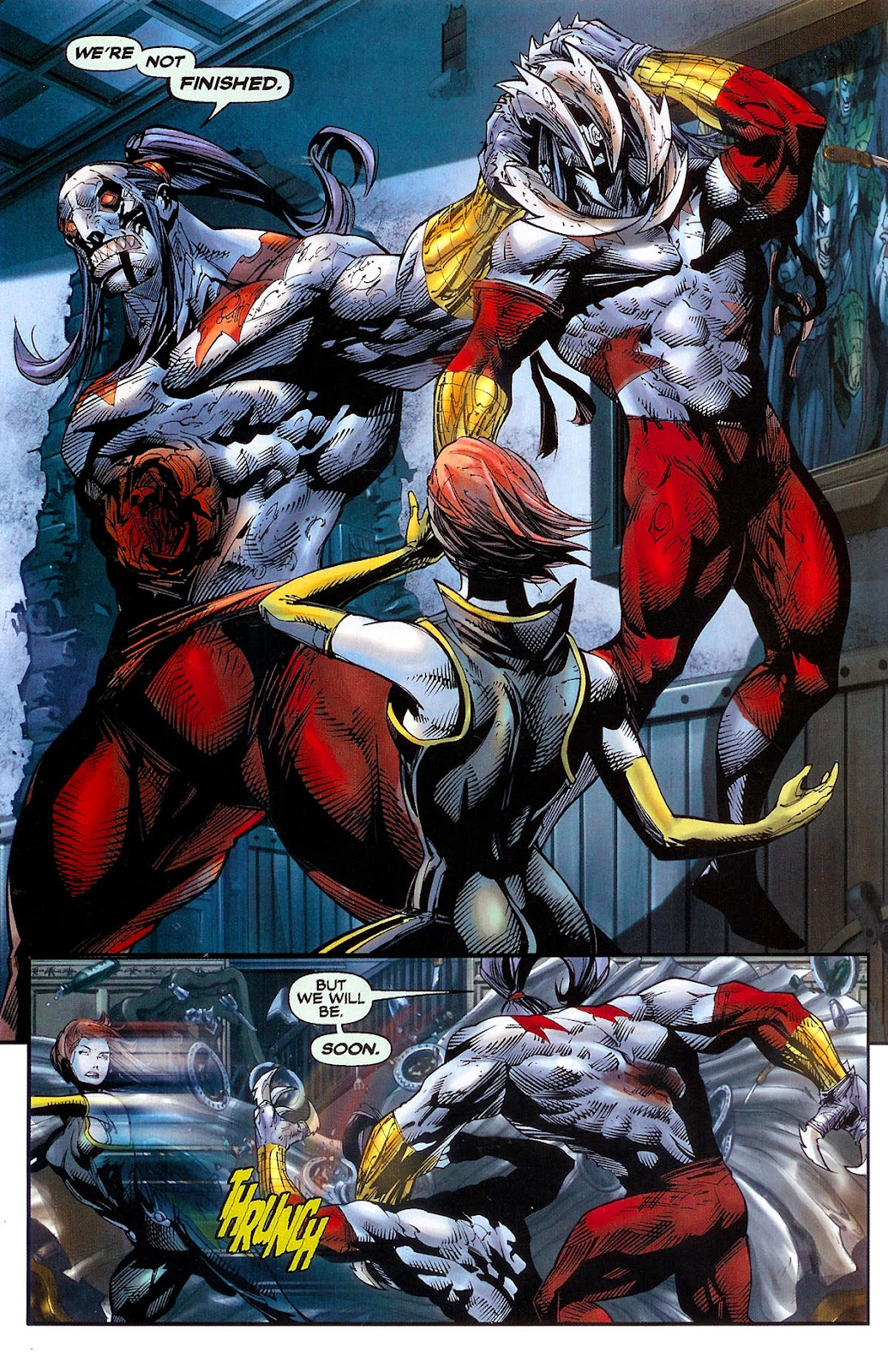 Cyberforce (2006) Issue #2 #3 - English 8