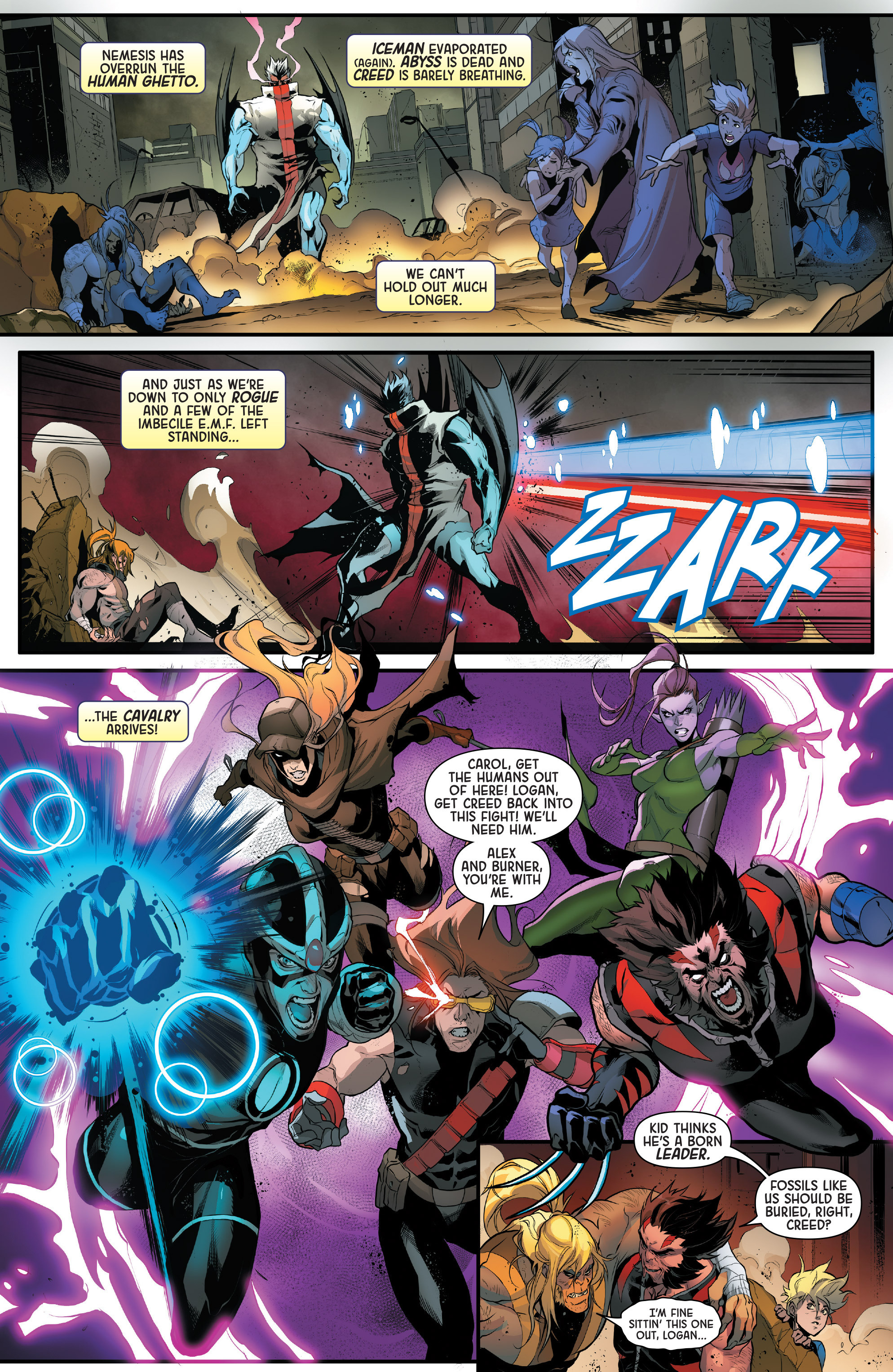 Read online Age of Apocalypse (2015) comic -  Issue #5 - 15