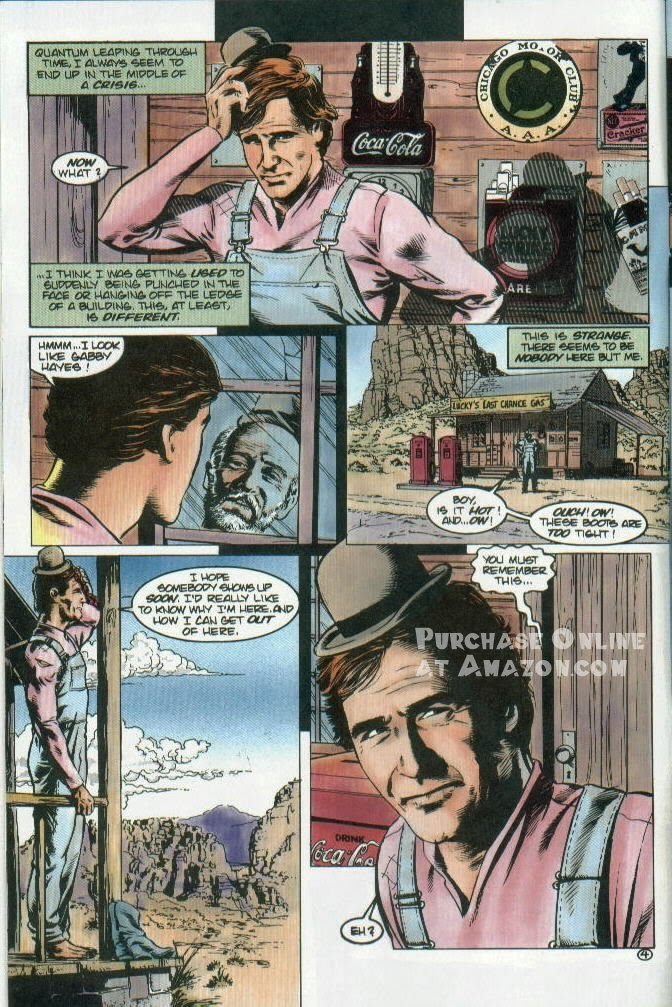 Read online Quantum Leap comic -  Issue #12 - 5