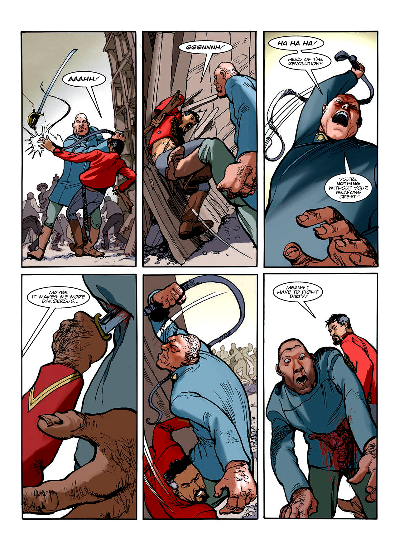 Read online Nikolai Dante comic -  Issue # TPB 10 - 157