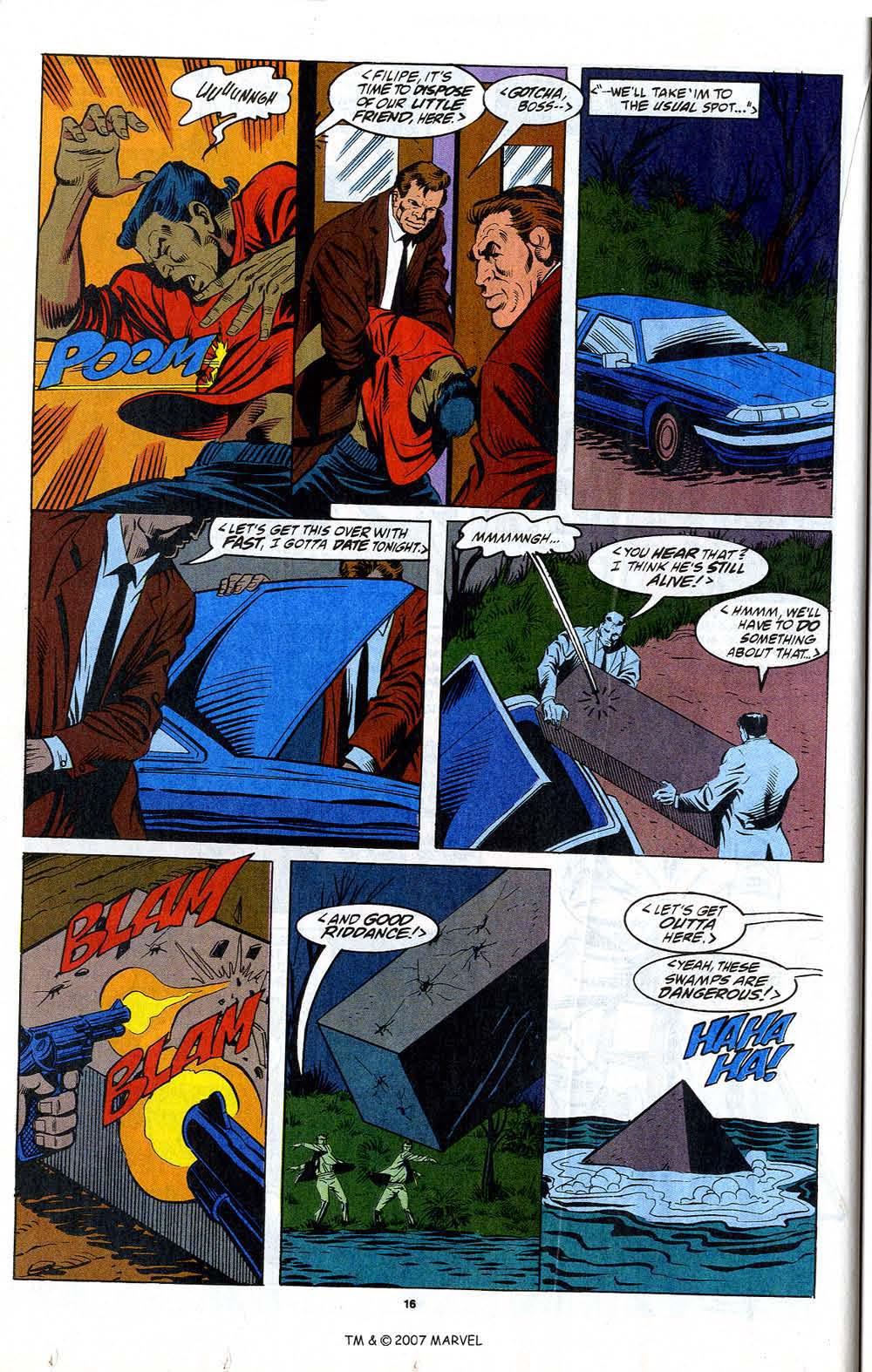 Read online Captain America (1968) comic -  Issue # _Annual 12 - 18
