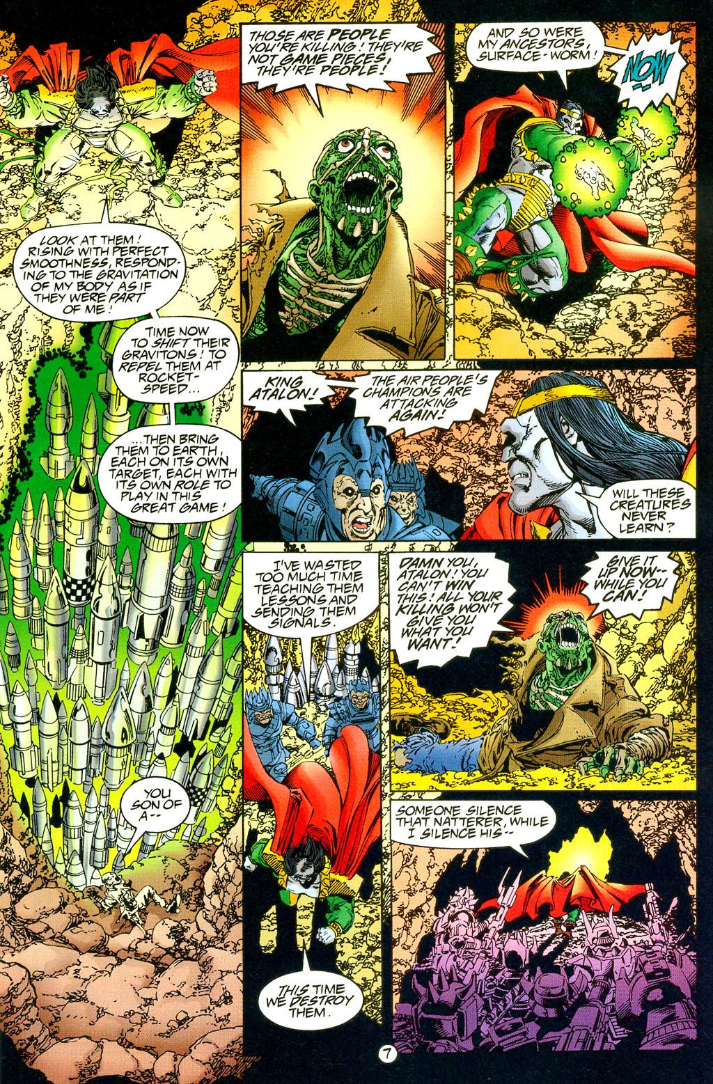 Read online UltraForce (1994) comic -  Issue #5 - 8