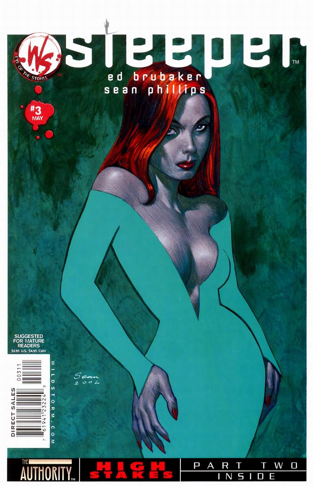 Read online Sleeper comic -  Issue #3 - 2