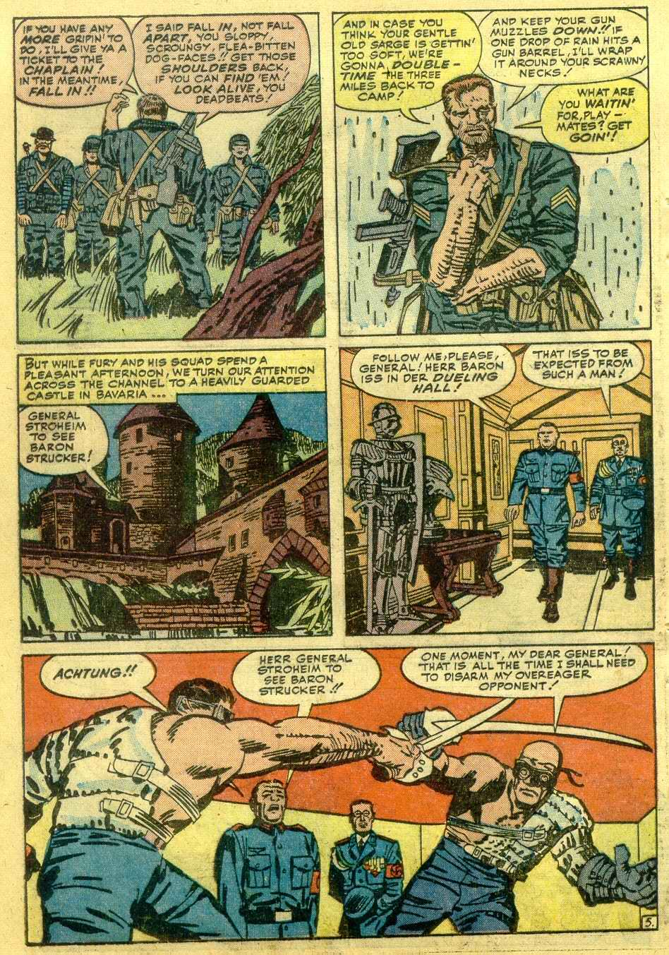 Read online Sgt. Fury comic -  Issue # _Annual 1 - 52