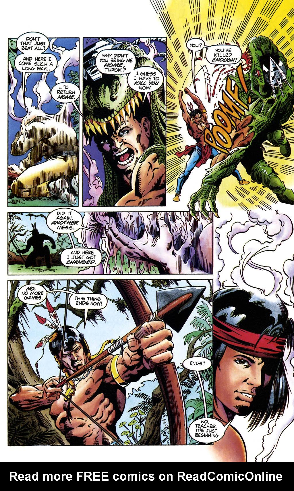 Read online Turok, Dinosaur Hunter (1993) comic -  Issue #36 - 12