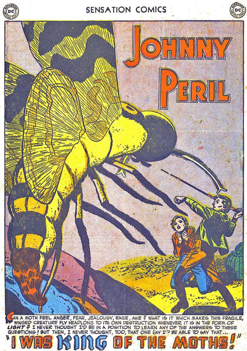 Read online Sensation (Mystery) Comics comic -  Issue #108 - 13