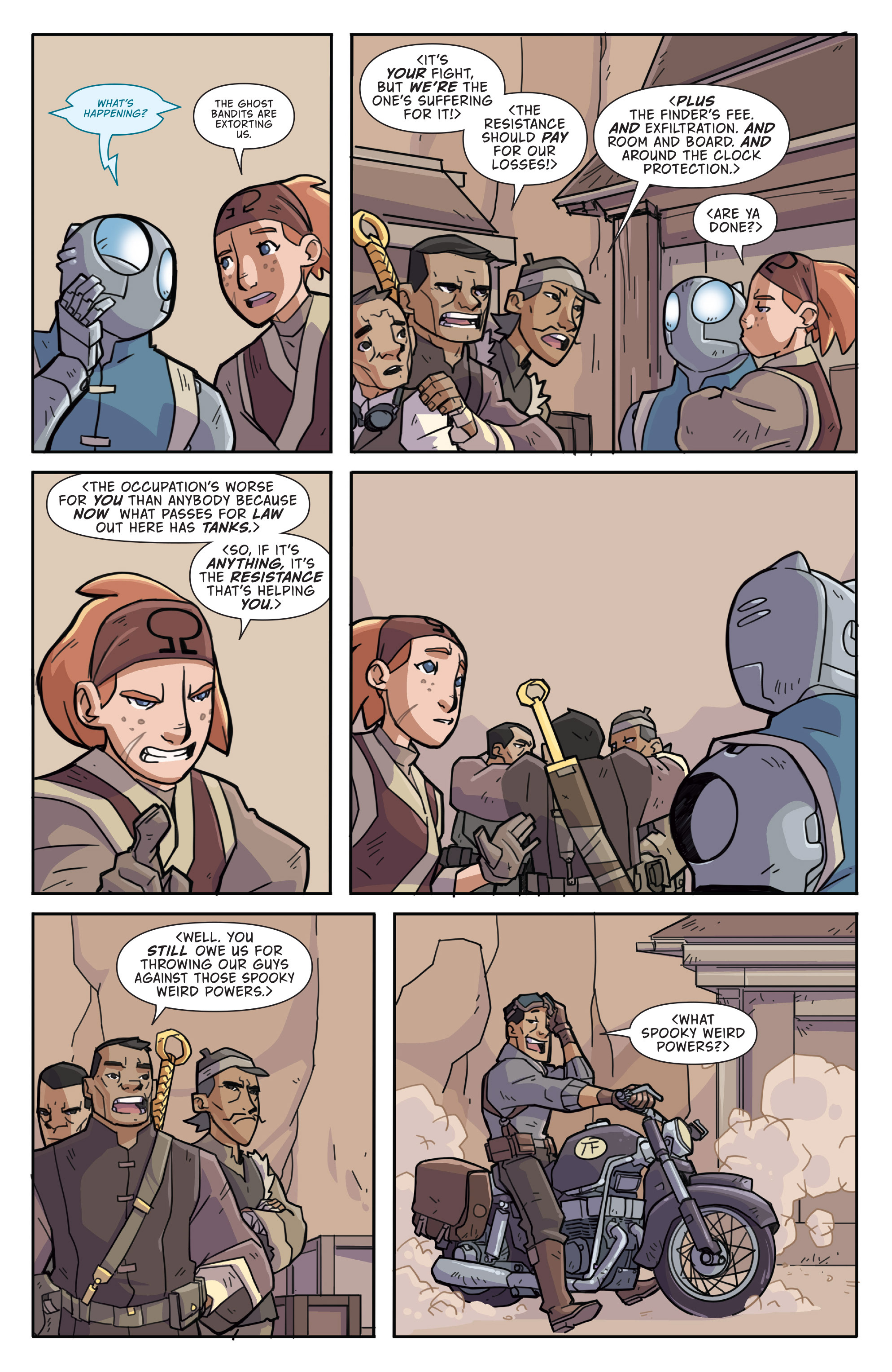 Read online Atomic Robo and the Temple of Od comic -  Issue #3 - 9