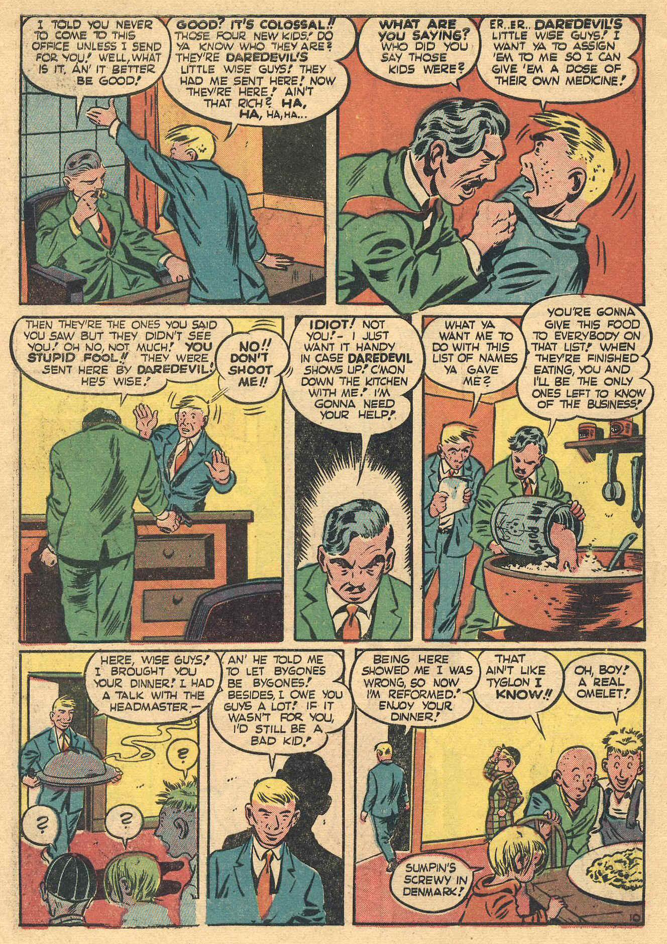 Daredevil (1941) issue 16 - Page 12