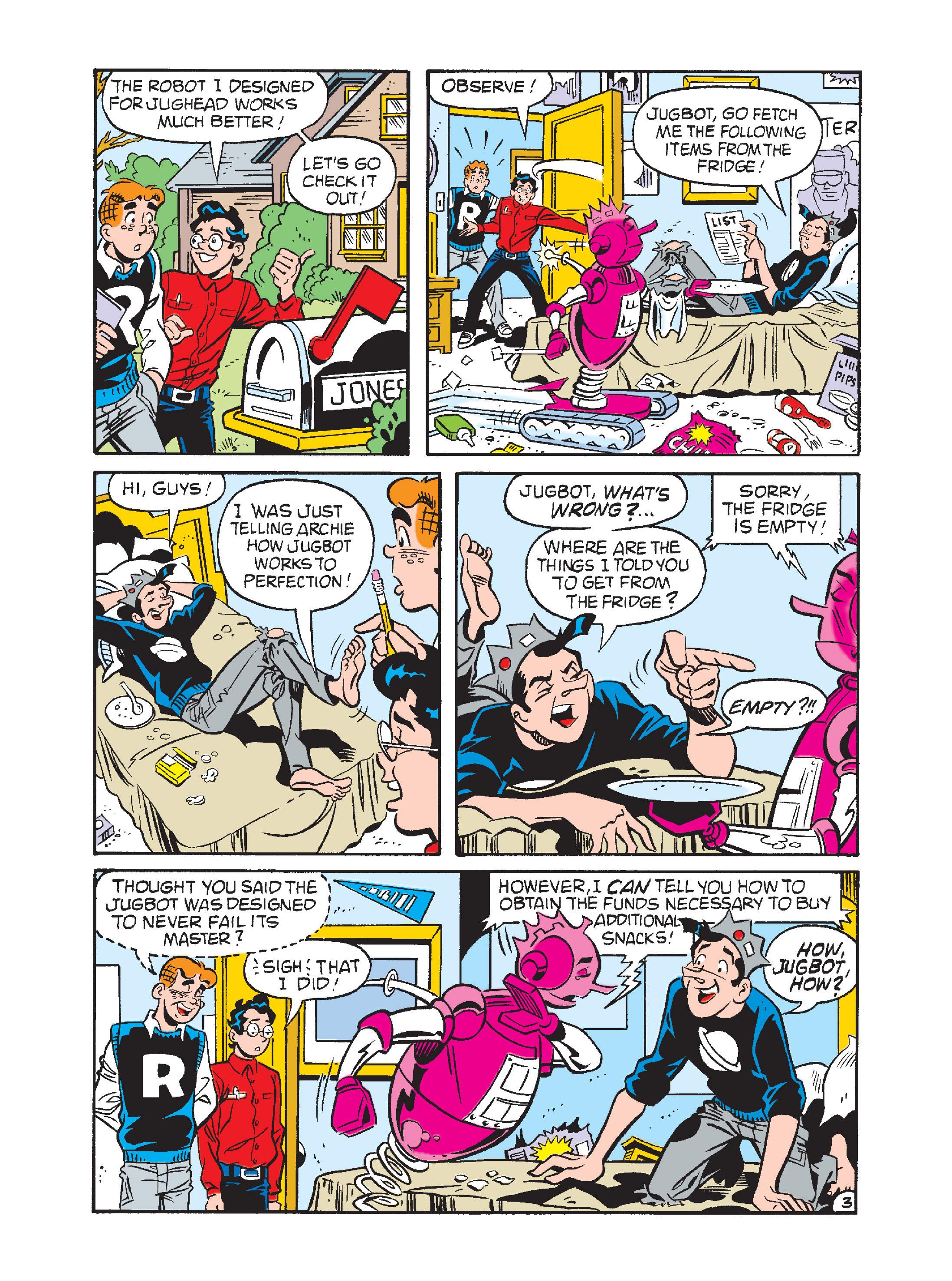 Read online Archie 1000 Page Comics Bonanza comic -  Issue #1 (Part 2) - 123