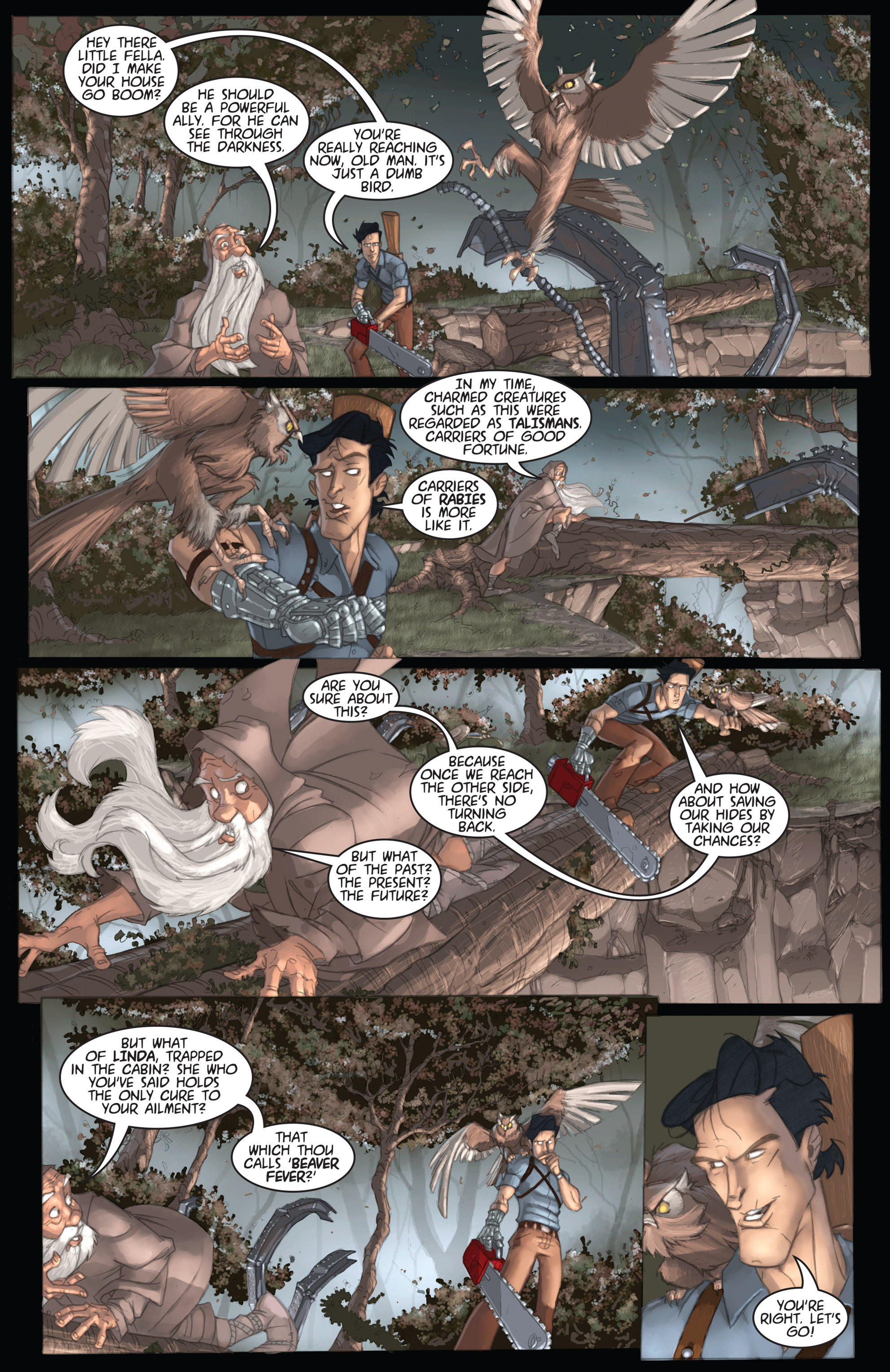 Read online Army of Darkness: Ashes 2 Ashes comic -  Issue #1 - 20
