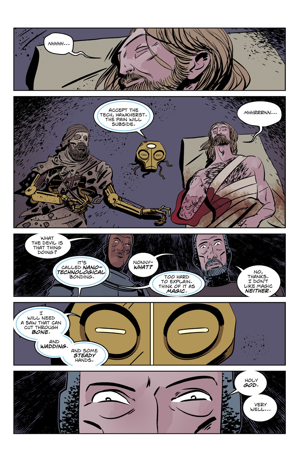 Read online Dark Ages comic -  Issue #3 - 23