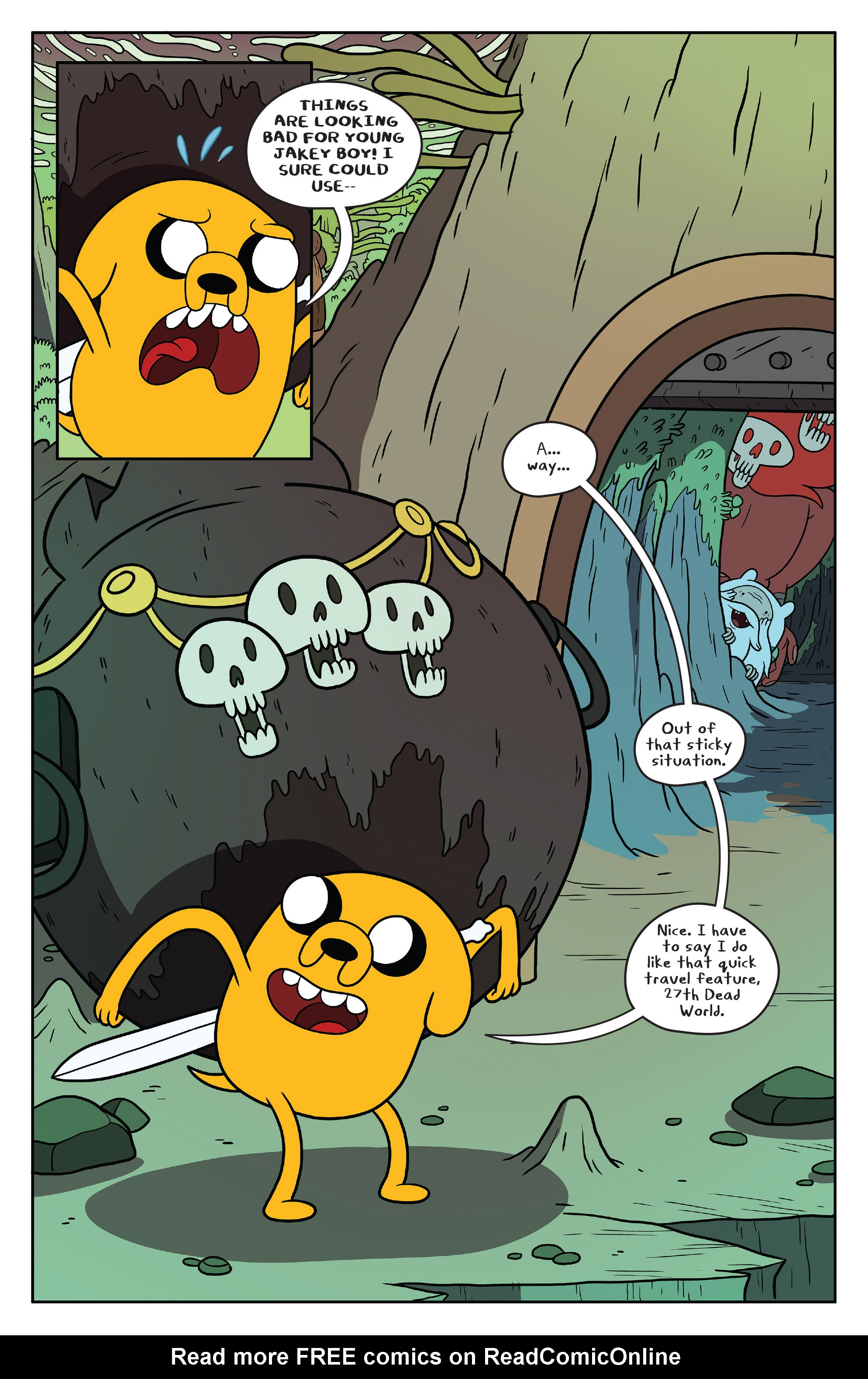 Read online Adventure Time comic -  Issue #53 - 19