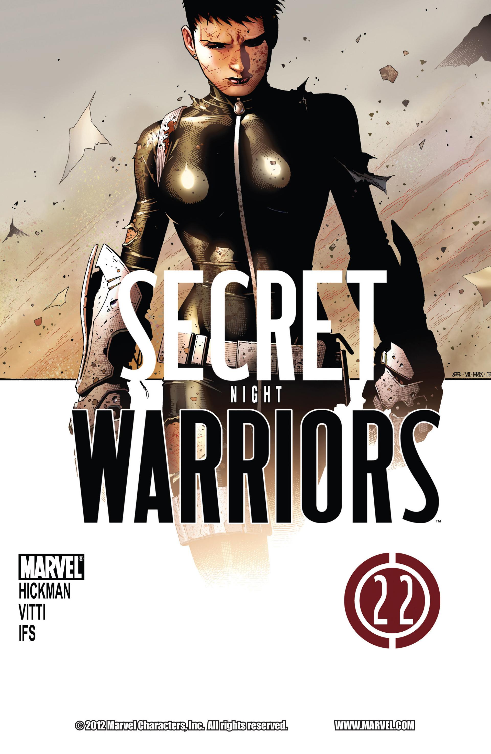 Read online Secret Warriors comic -  Issue #22 - 2