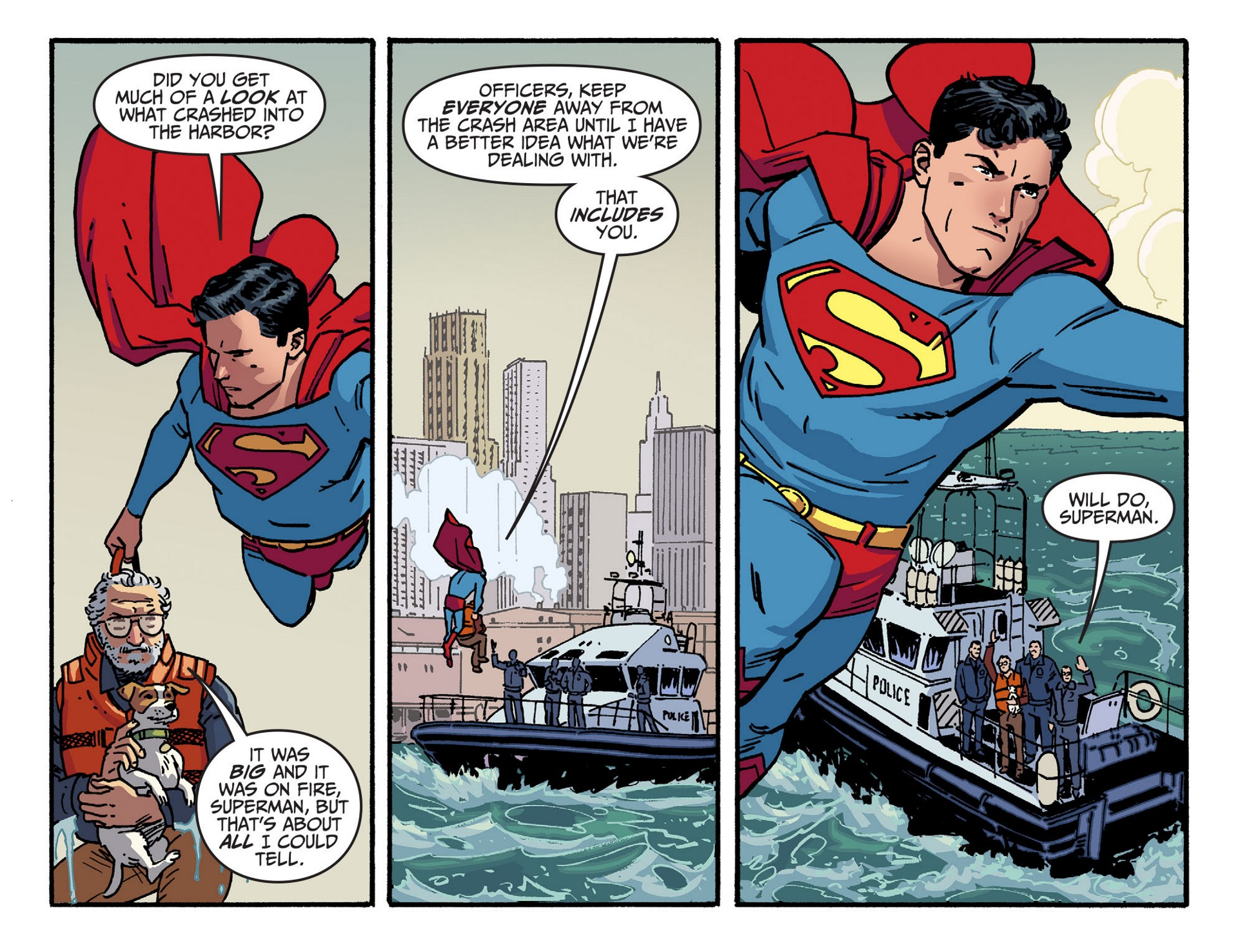 Read online Adventures of Superman [I] comic -  Issue #43 - 12
