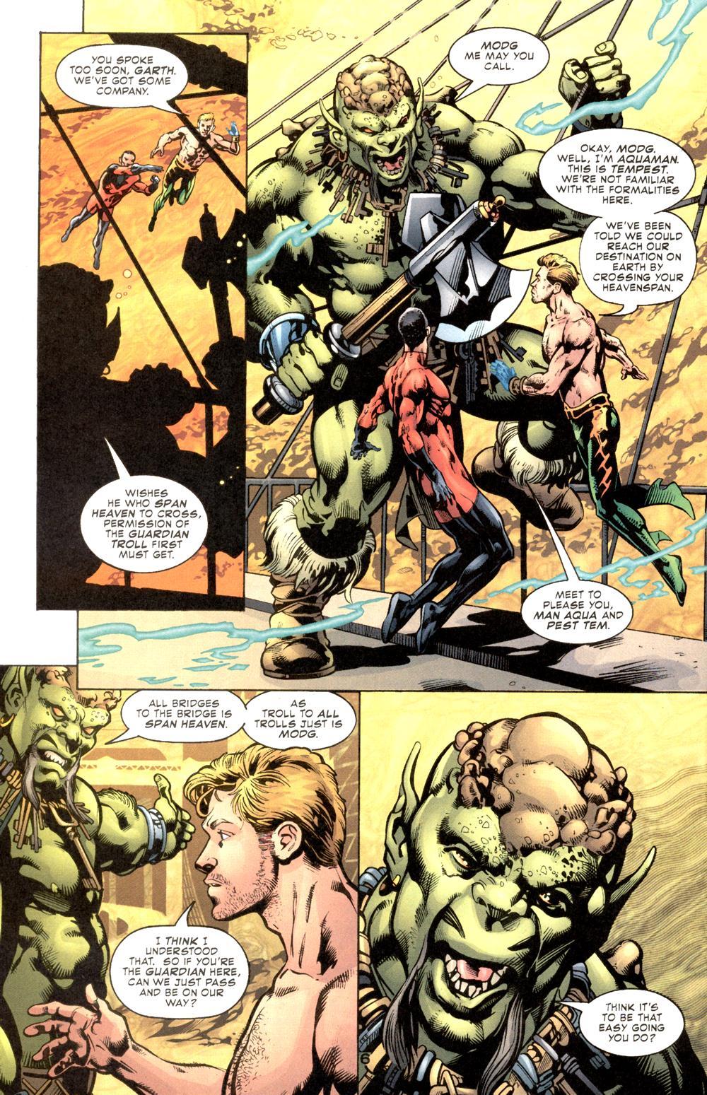 Read online Aquaman (2003) comic -  Issue #6 - 8