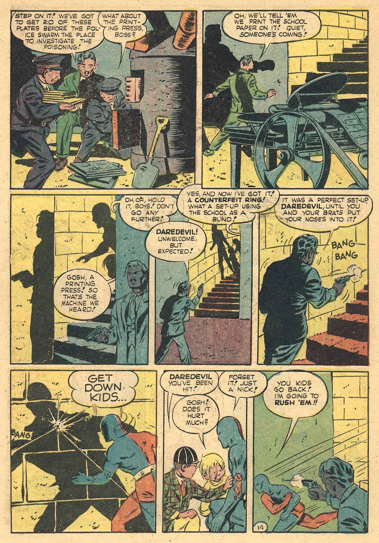 Daredevil (1941) issue 16 - Page 16