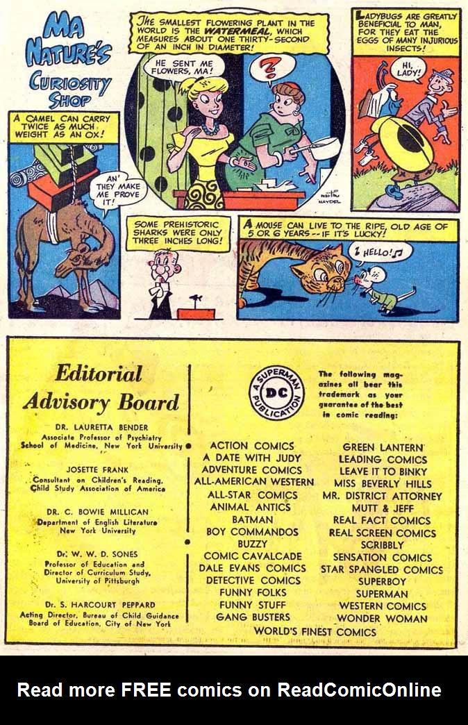 Read online Sensation (Mystery) Comics comic -  Issue #89 - 38