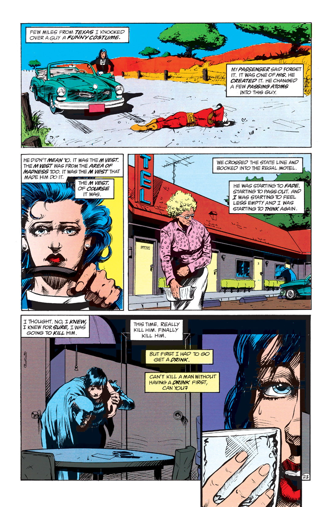 Read online Shade, the Changing Man comic -  Issue #1 - 25