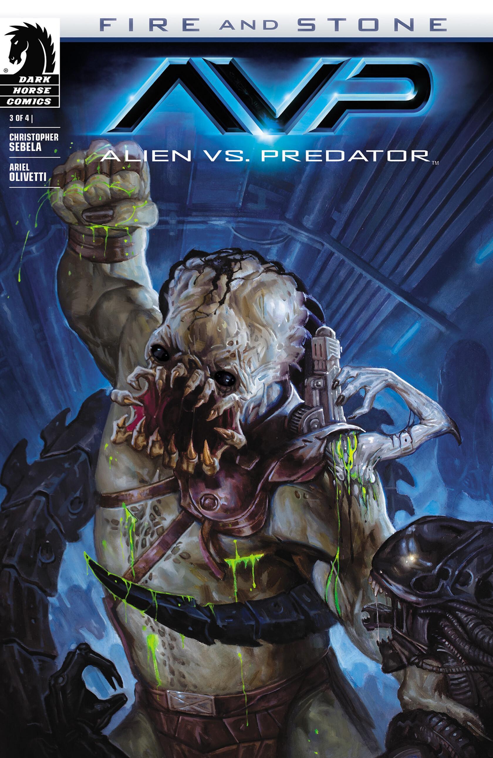 Read online Alien vs. Predator: Fire and Stone comic -  Issue #3 - 1