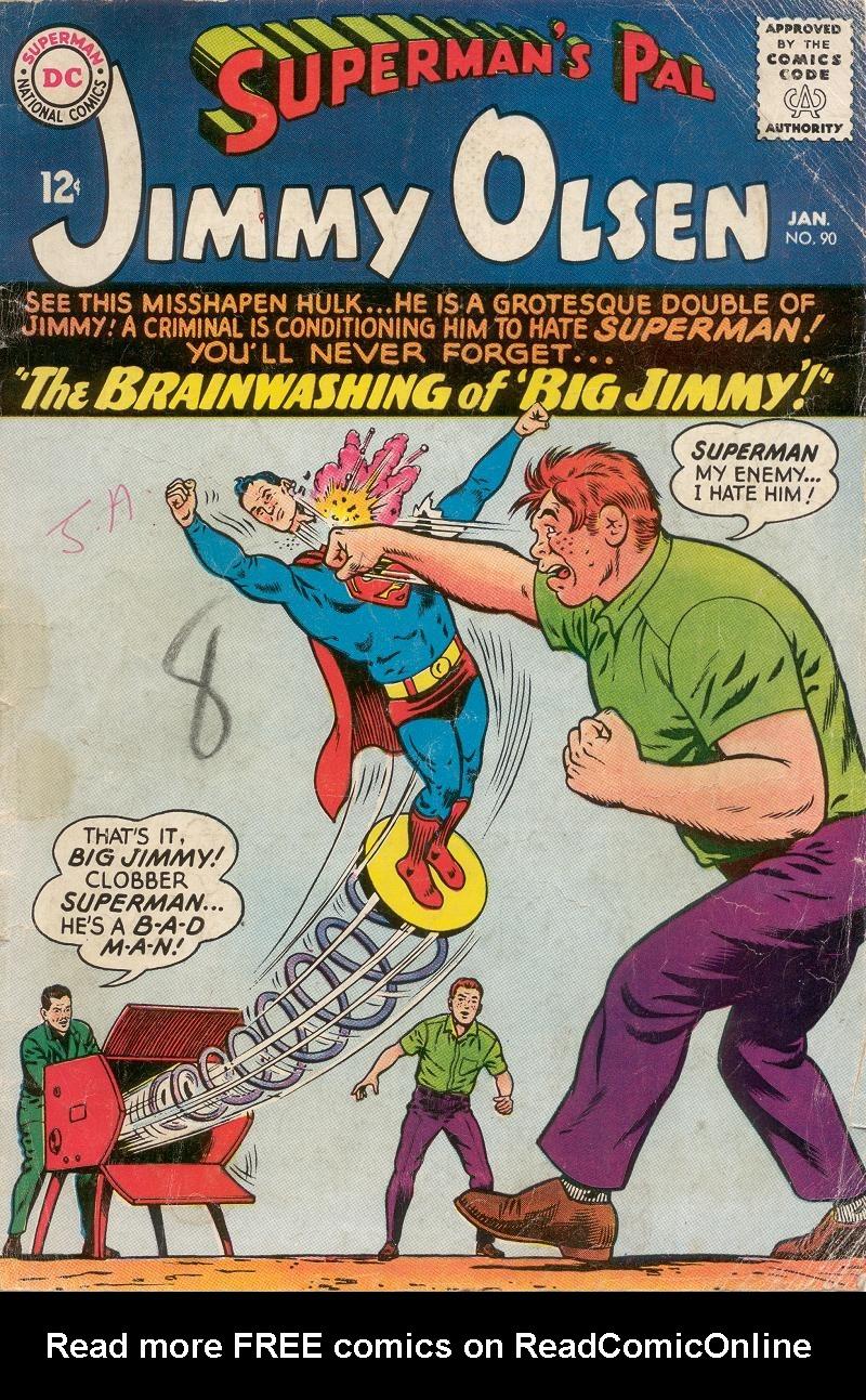 Supermans Pal Jimmy Olsen (1954) 90 Page 1