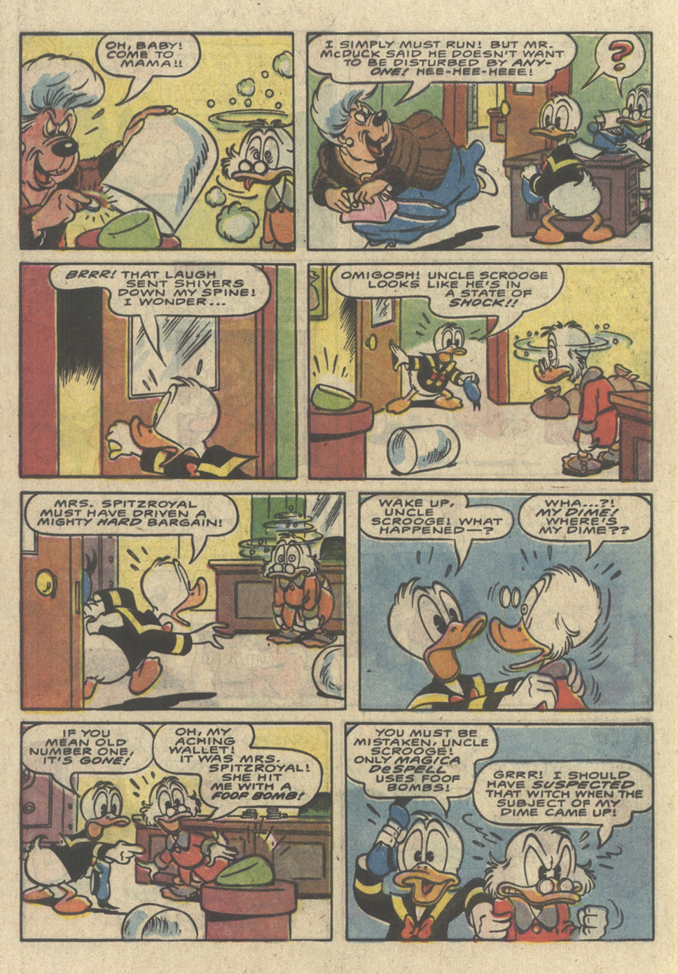 Read online Uncle Scrooge (1953) comic -  Issue #226 - 32