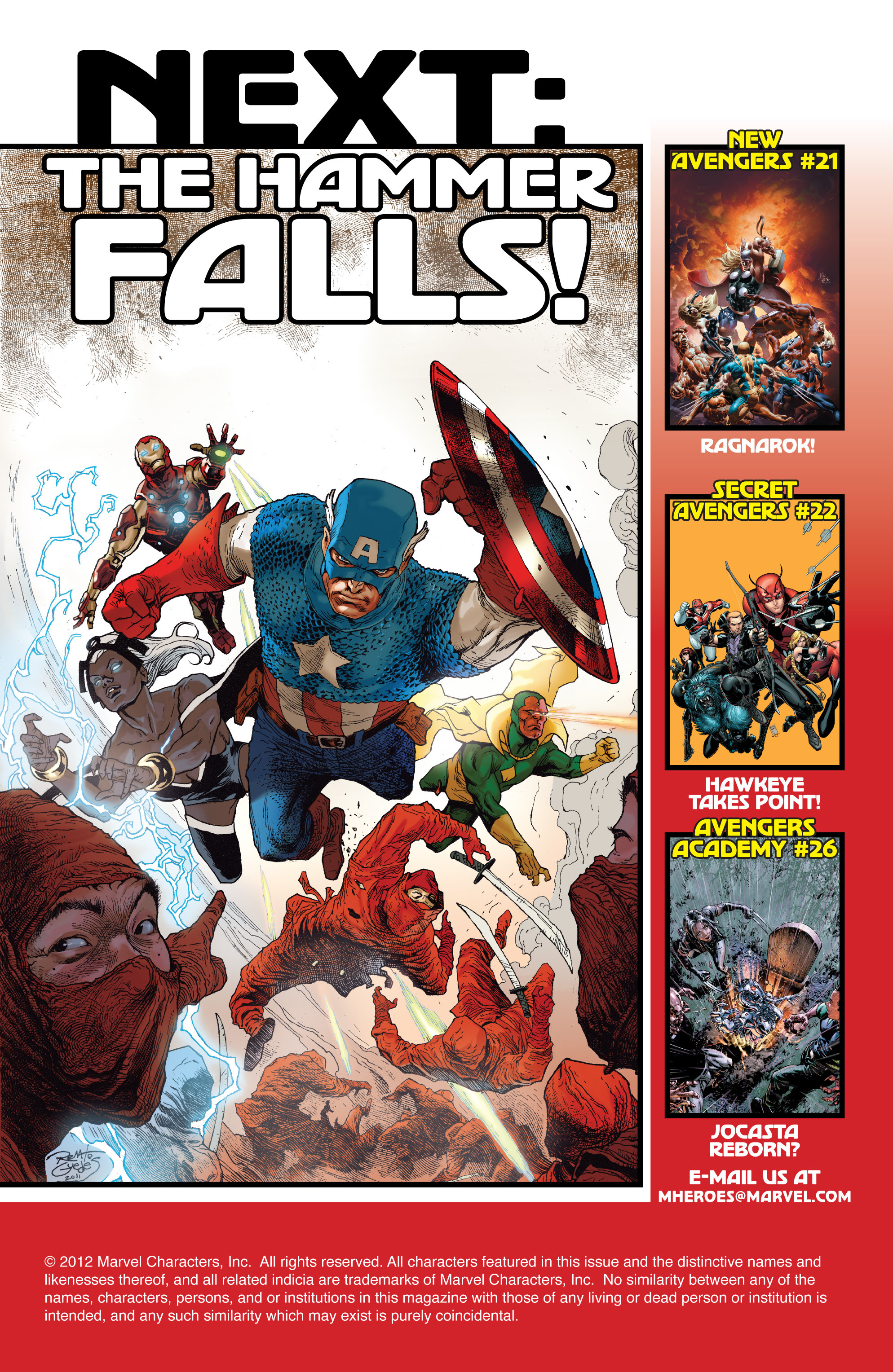 Read online Avengers (2010) comic -  Issue #22 - 20