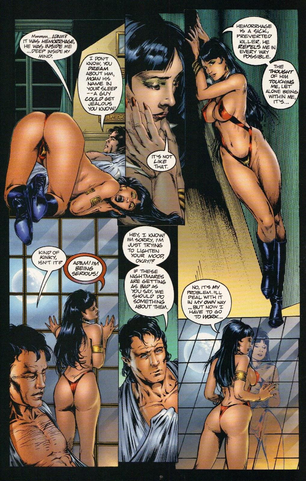 Vampirella vs Hemorrhage issue 1 - Page 8