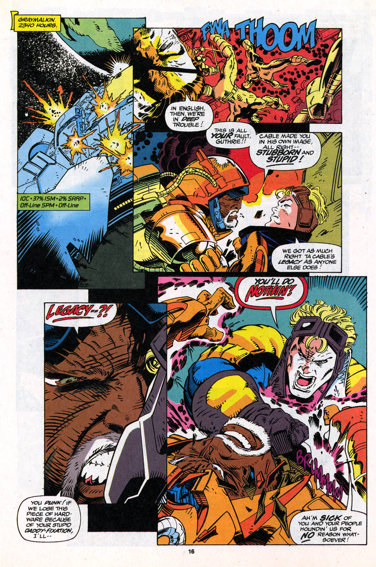 Read online X-Force (1991) comic -  Issue #21 - 17
