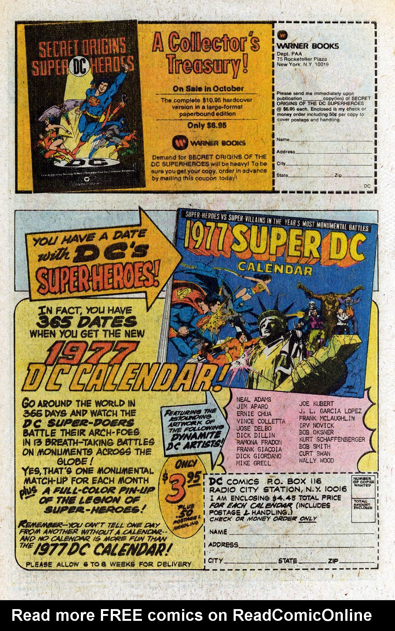 Read online Secret Society of Super-Villains comic -  Issue #4 - 28