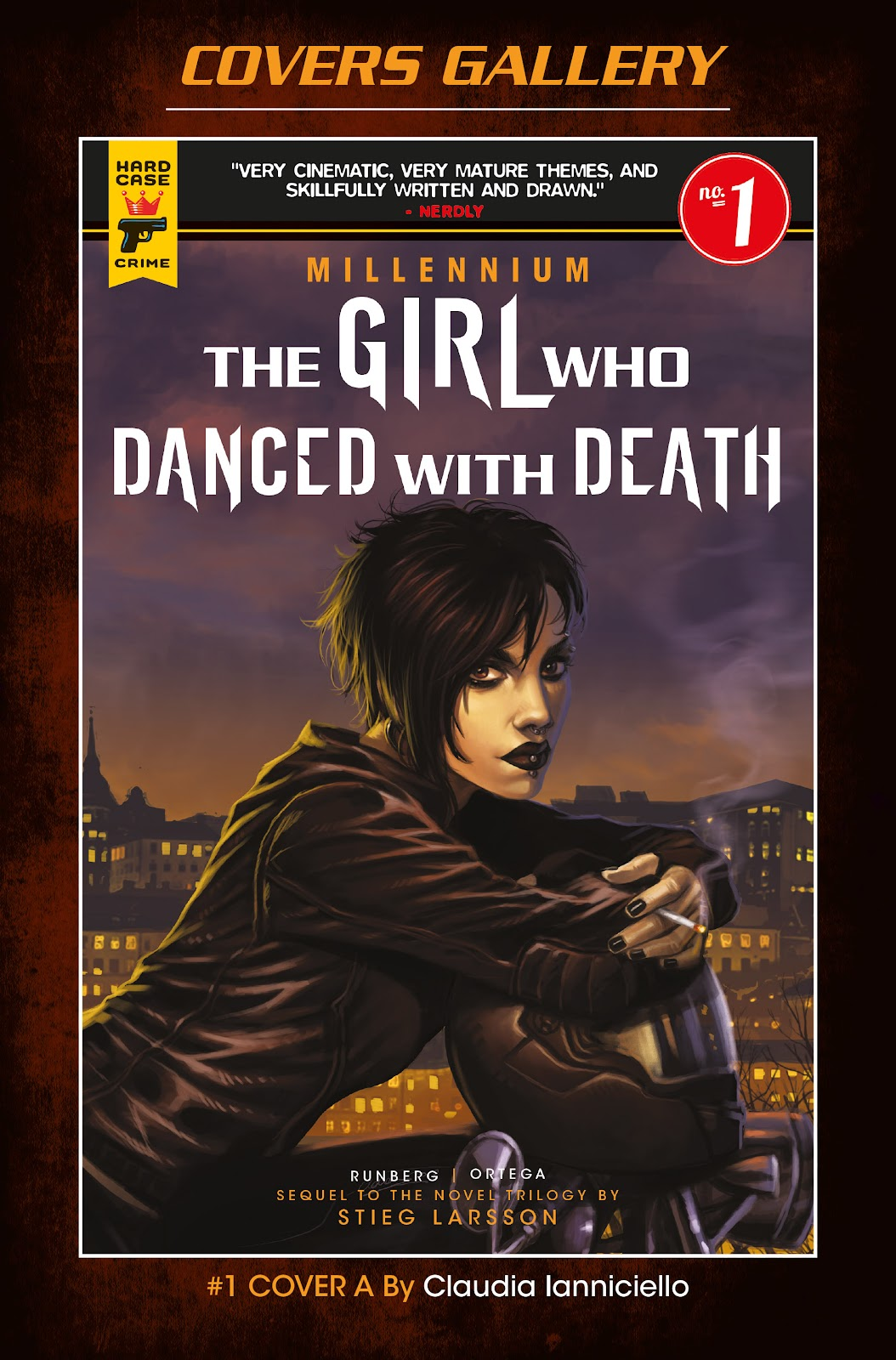 Read online Millennium: The Girl Who Danced With Death comic -  Issue #1 - 58