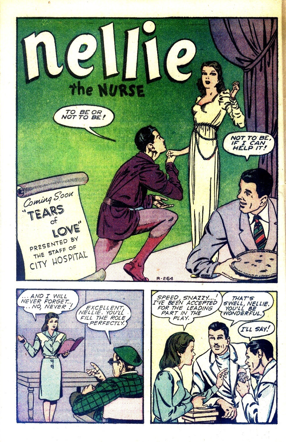 Read online Nellie The Nurse (1945) comic -  Issue #2 - 42