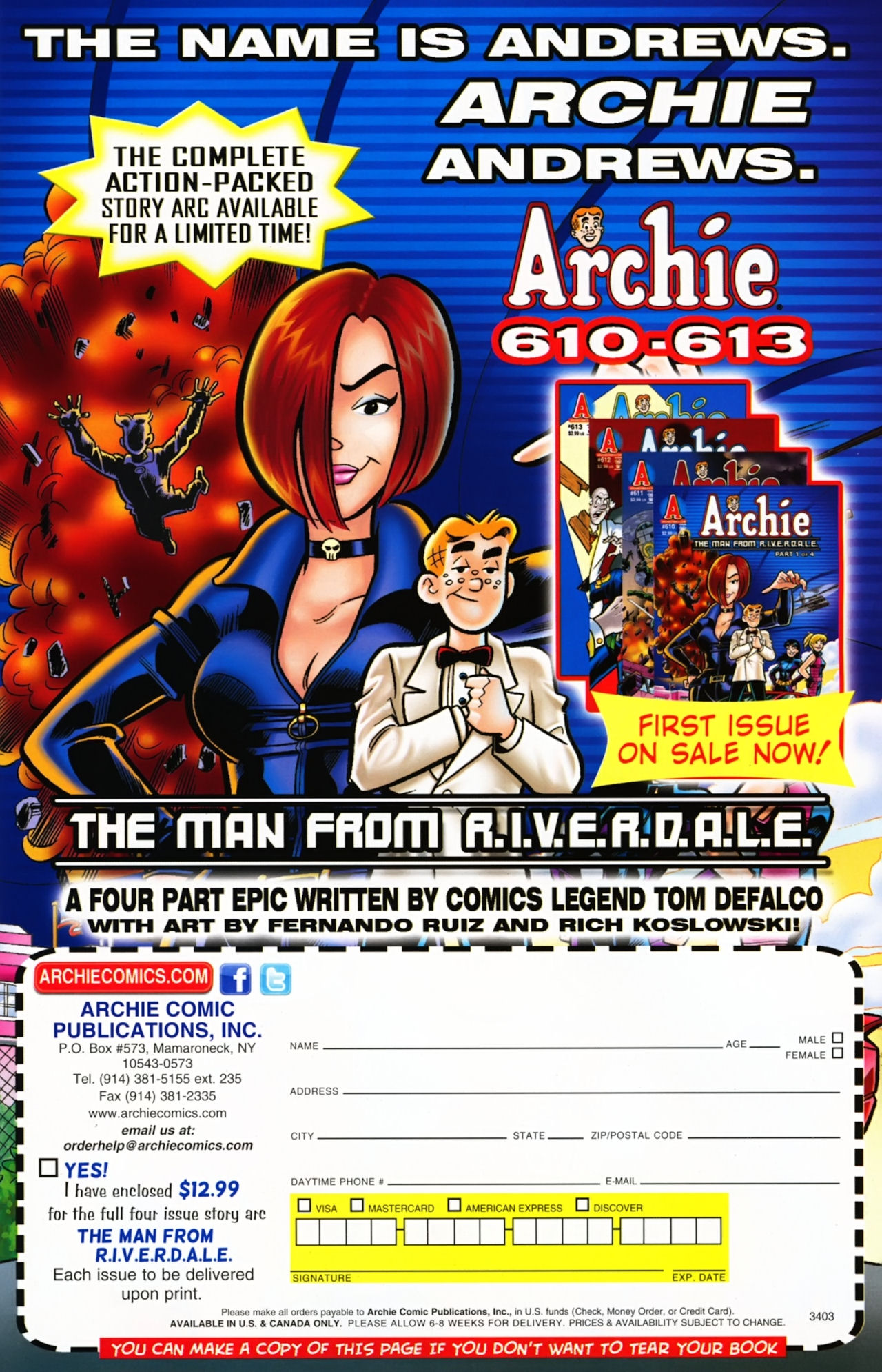 Read online Archie (1960) comic -  Issue #611 - 19