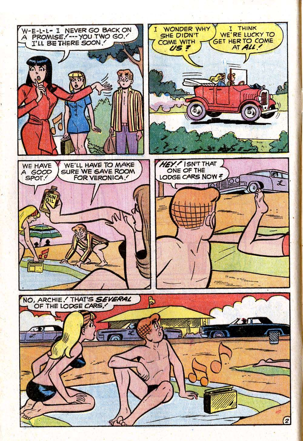 Read online Archie (1960) comic -  Issue #222 - 4